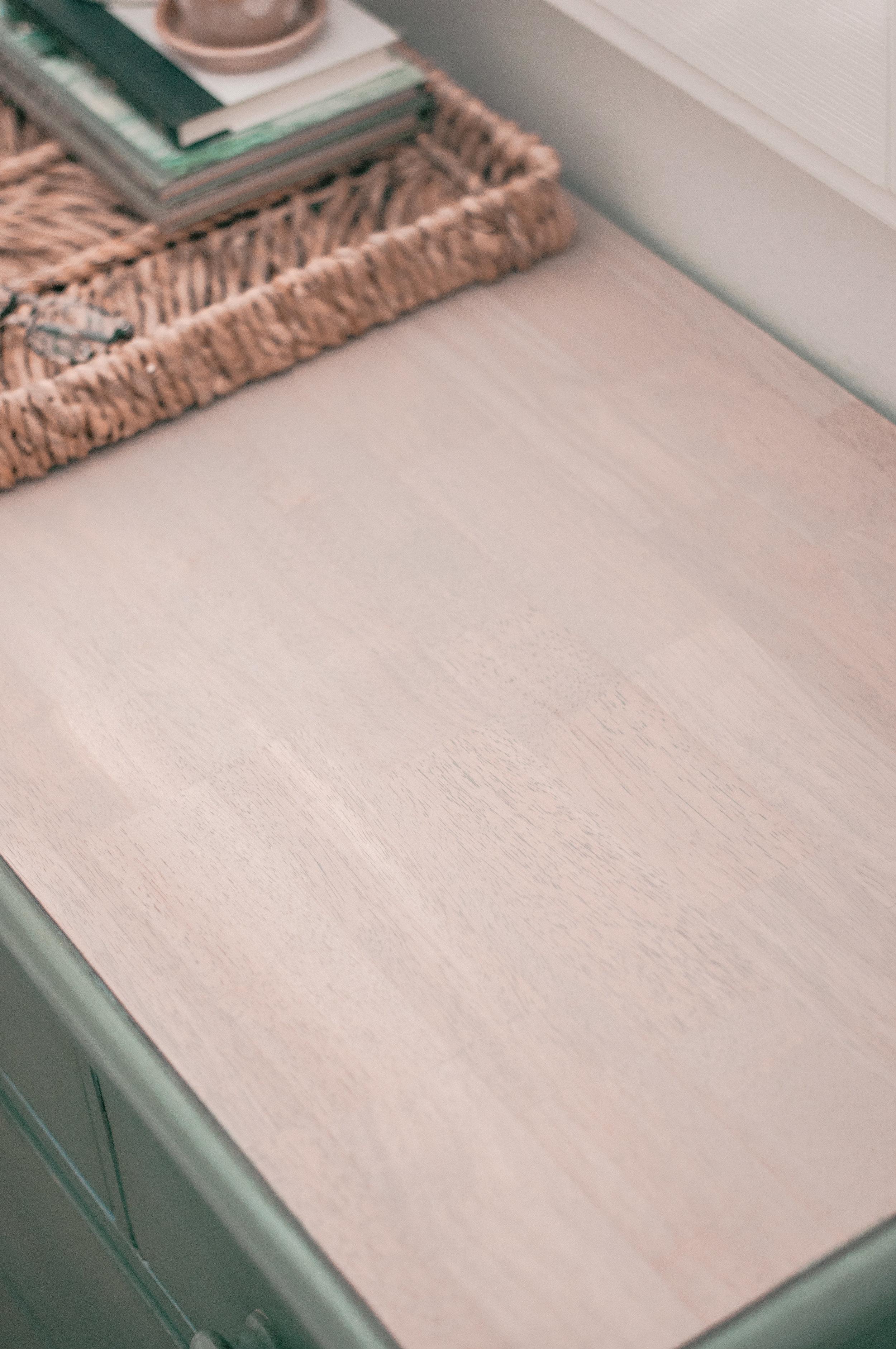 DIy refinished wood farmhouse dresser