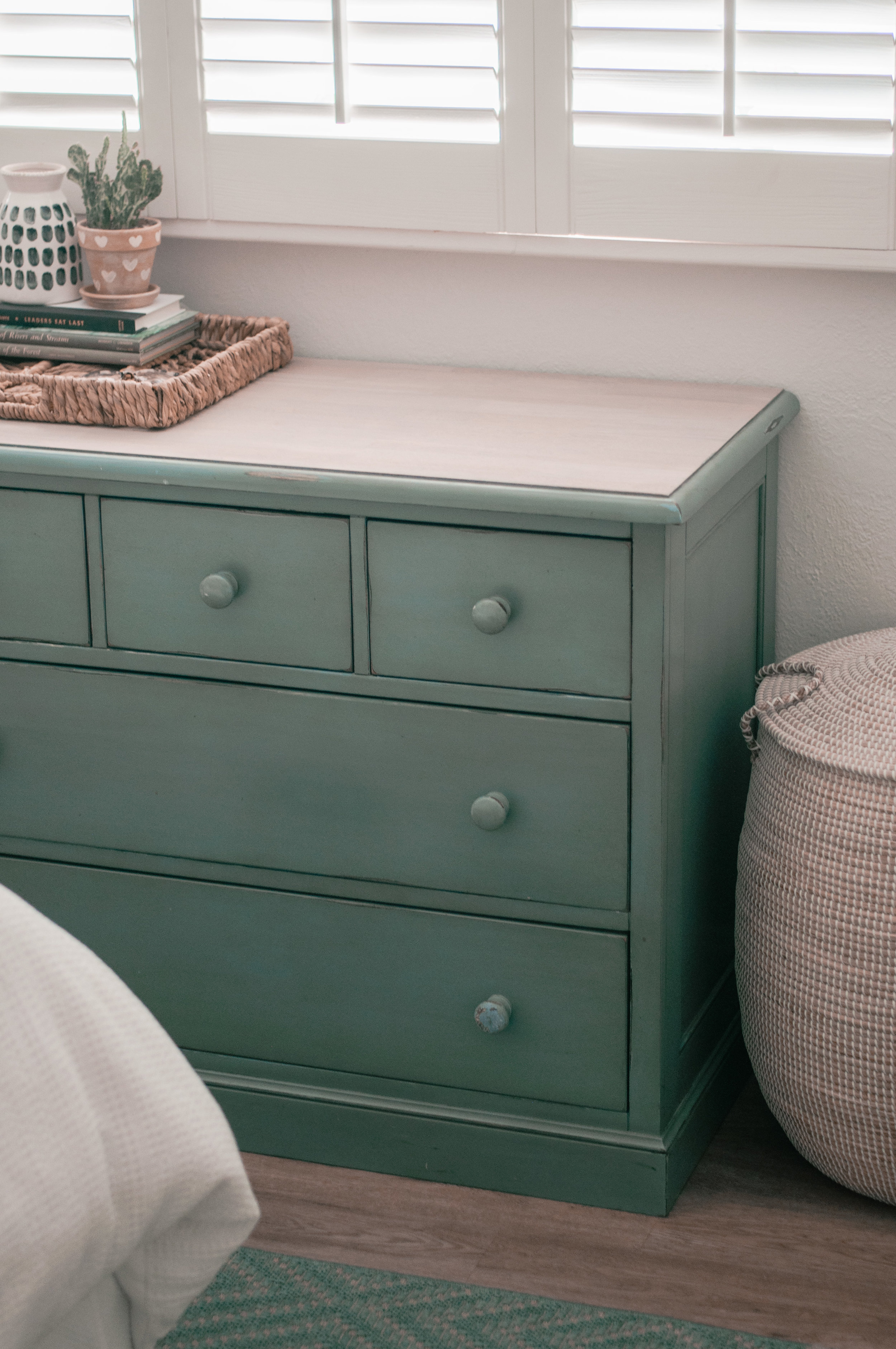 An Easy Diy Wood Dresser Makeover