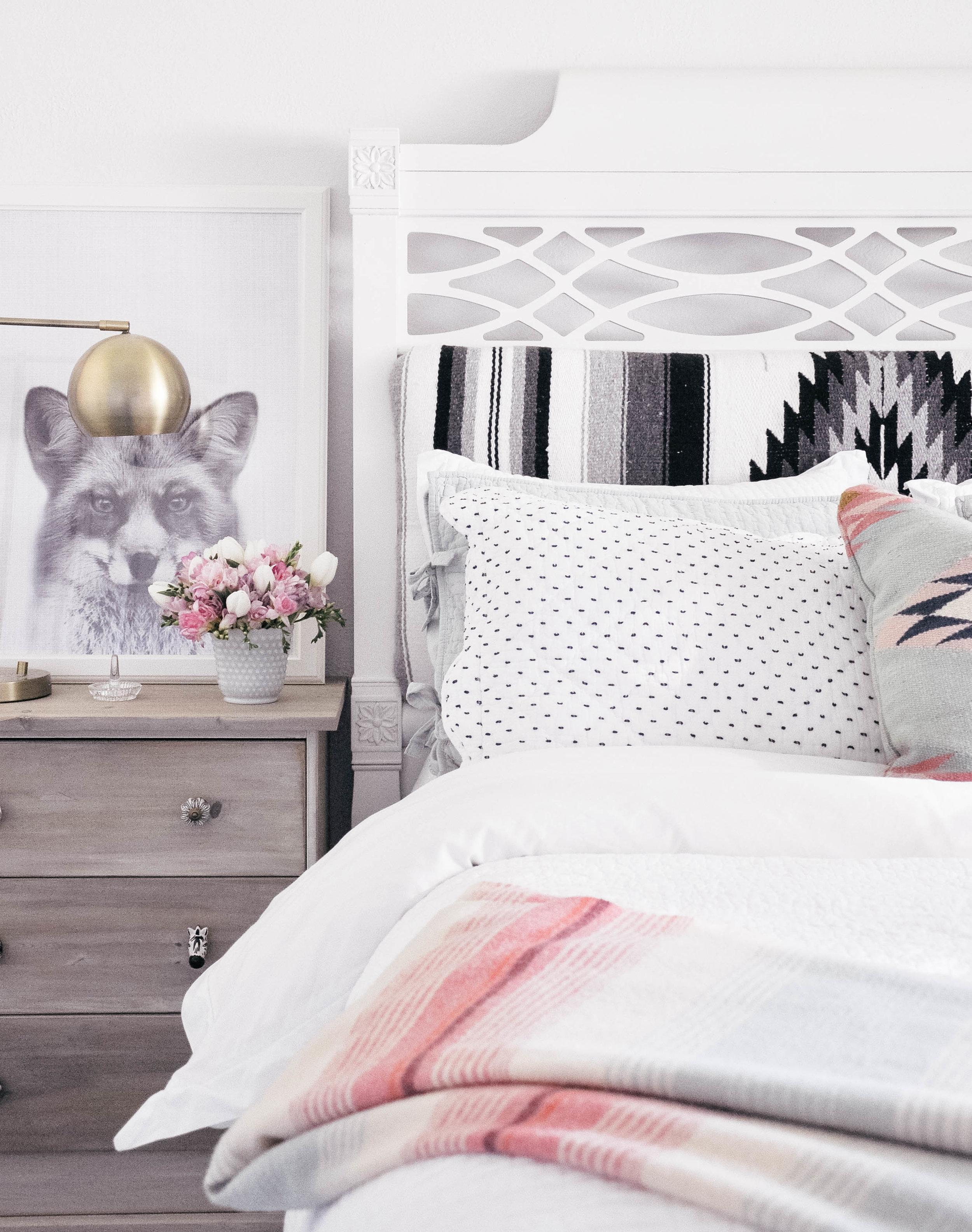 DIY Upholstered Fabric Headboard Ideas