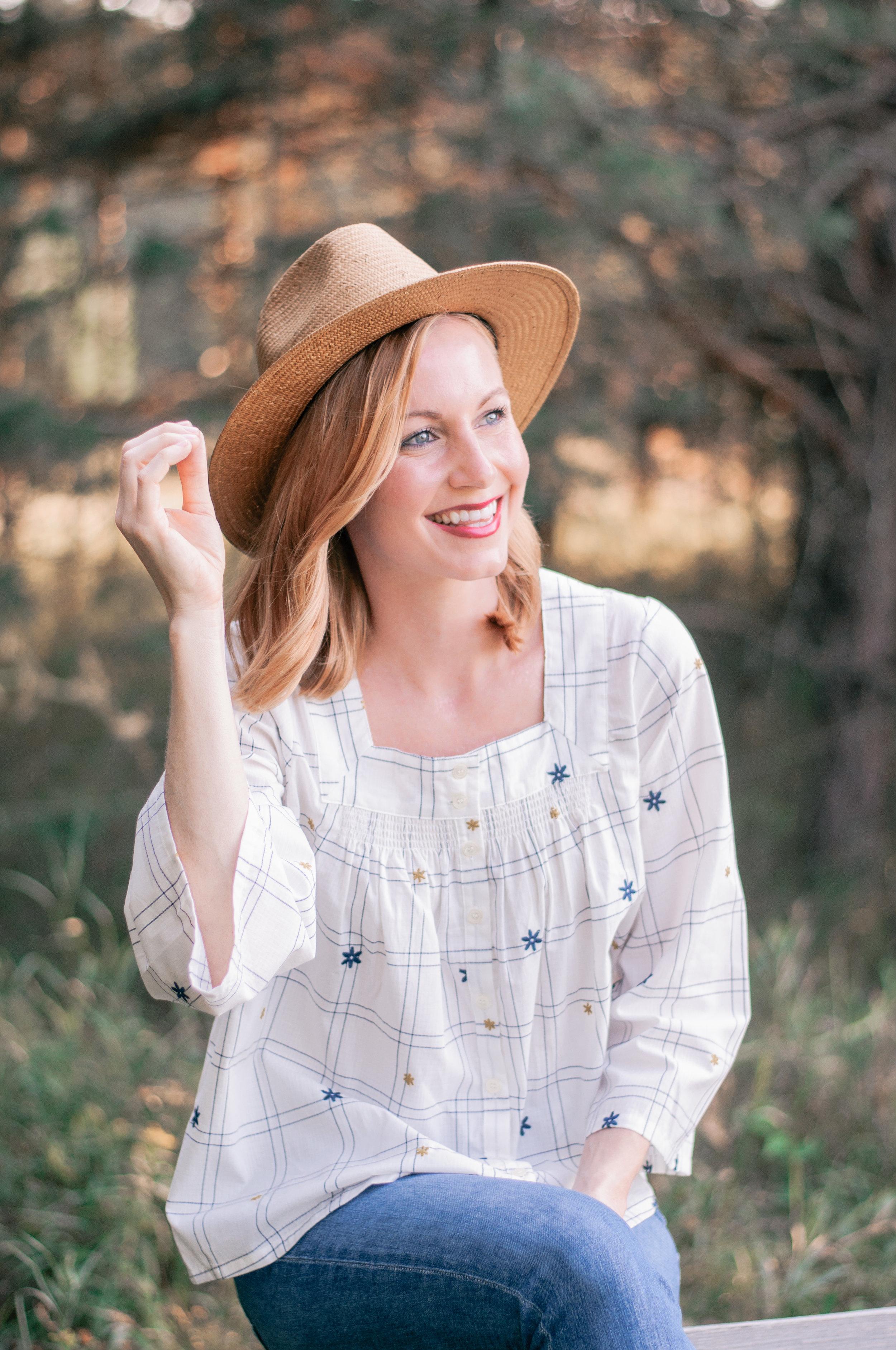 Cute women's Panama hats for Fall