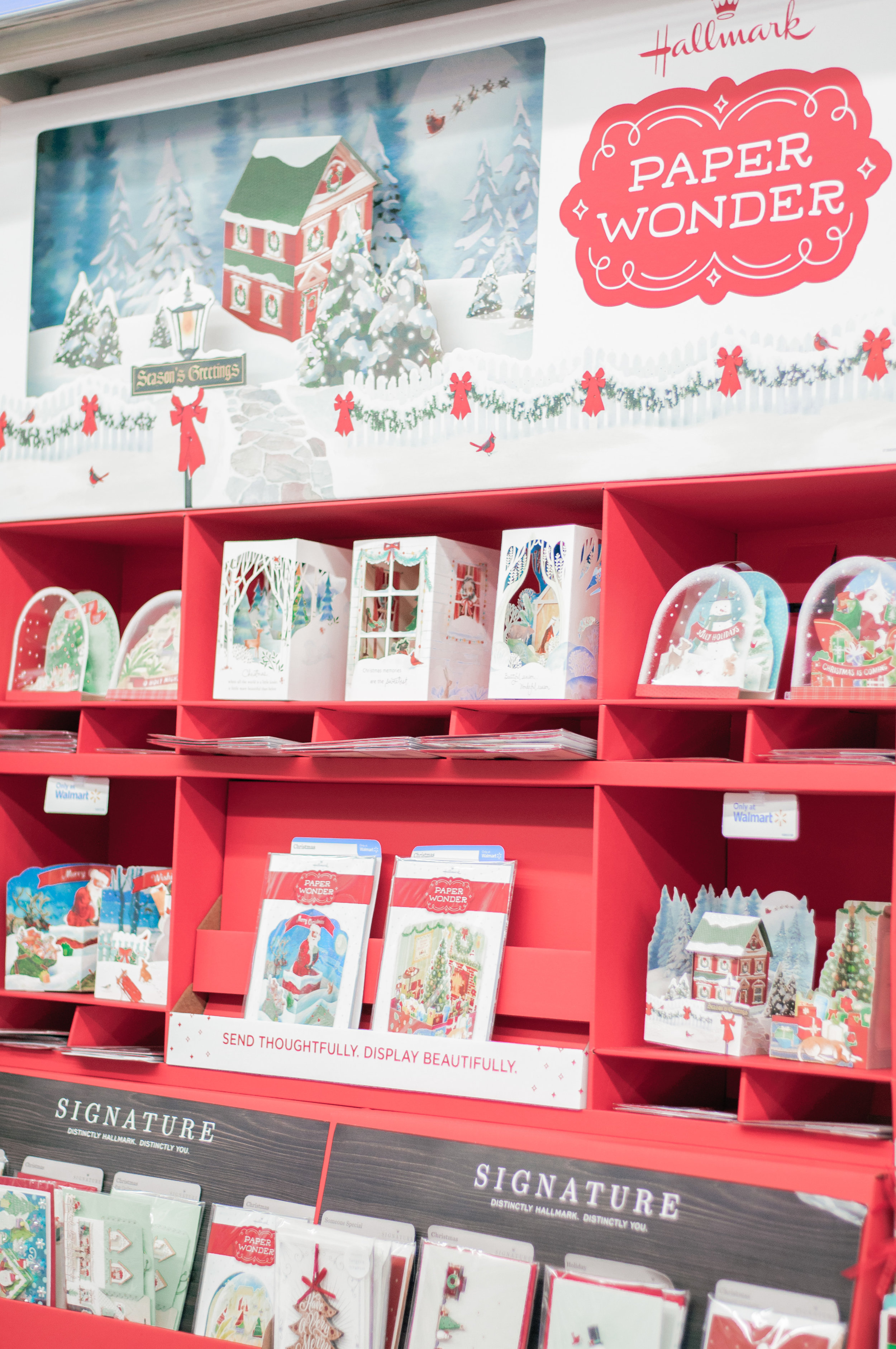 Hallmark Holiday Cards at Walmart