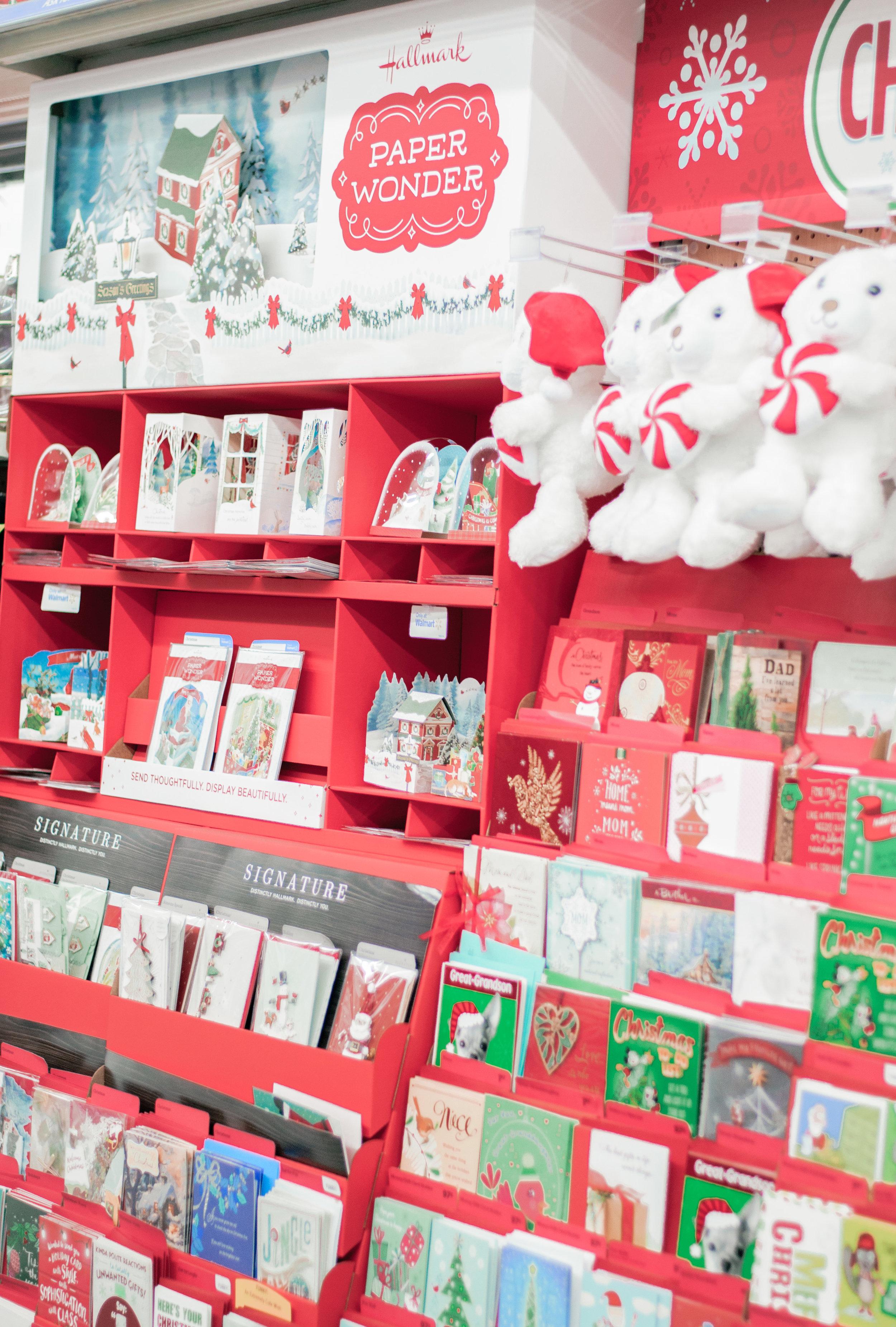 Hallmark Christmas Cards at Walmart