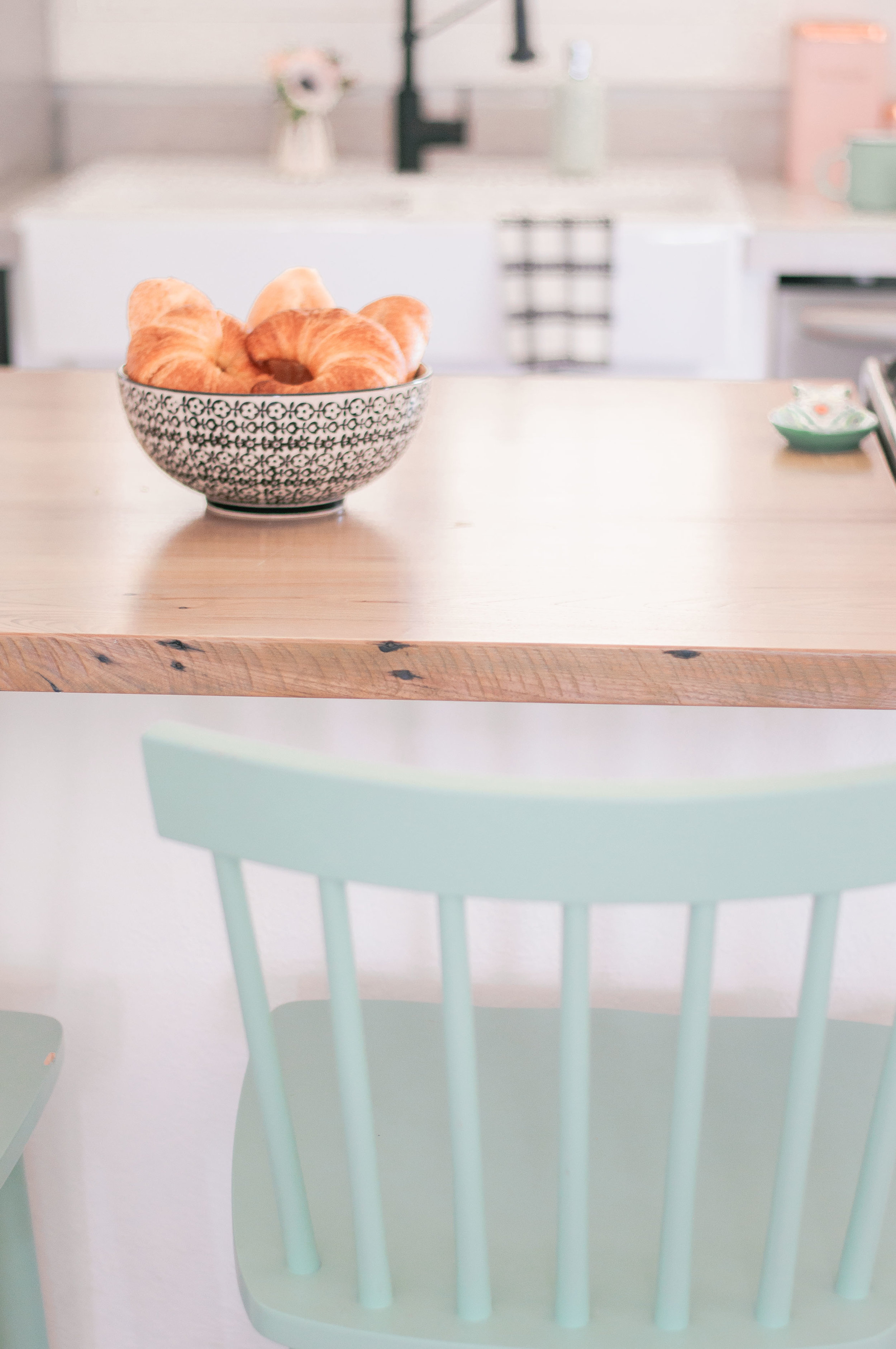 Farmhouse Kitchen Wood Countertops