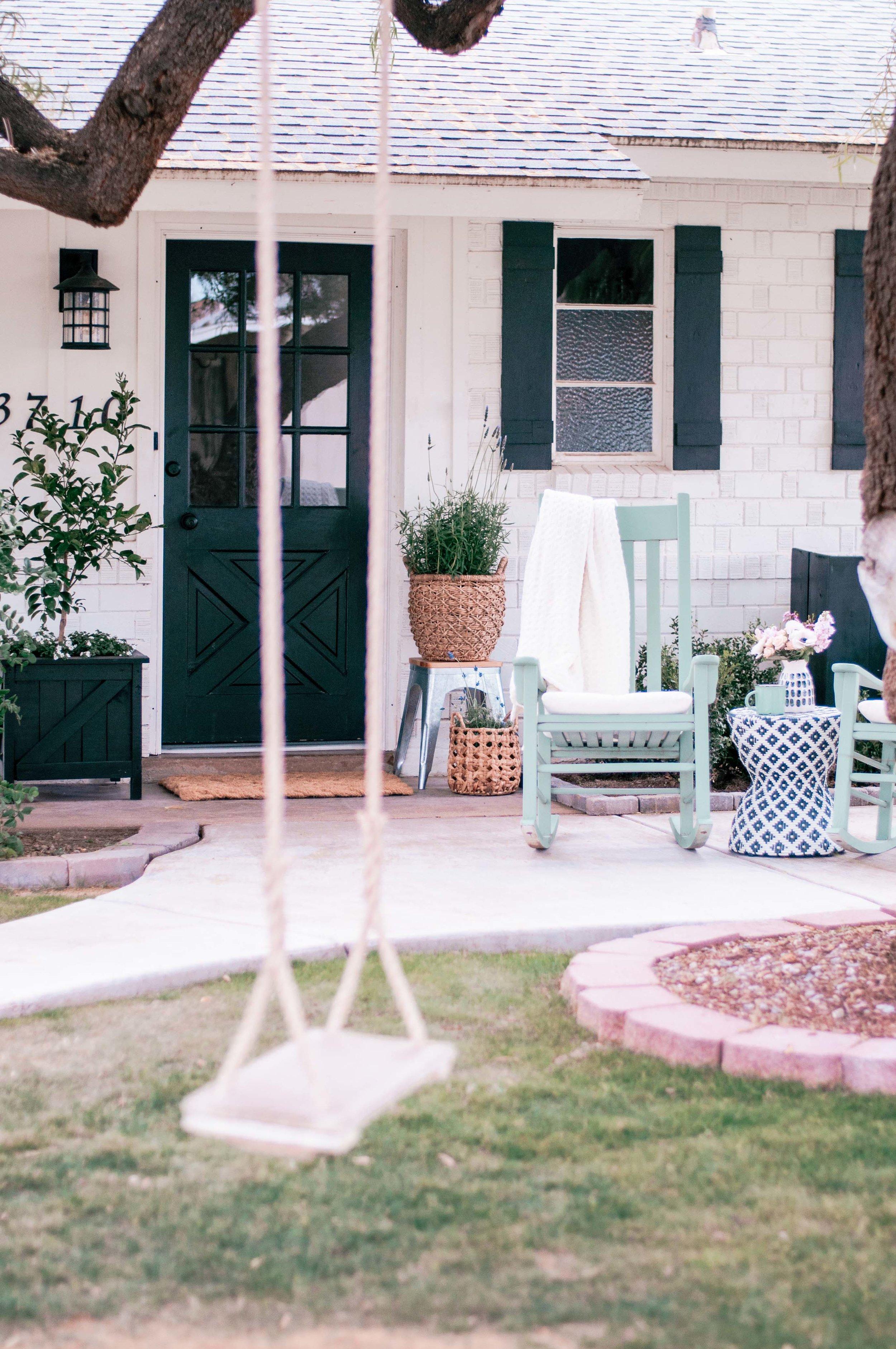 Farmhouse front porch ideas
