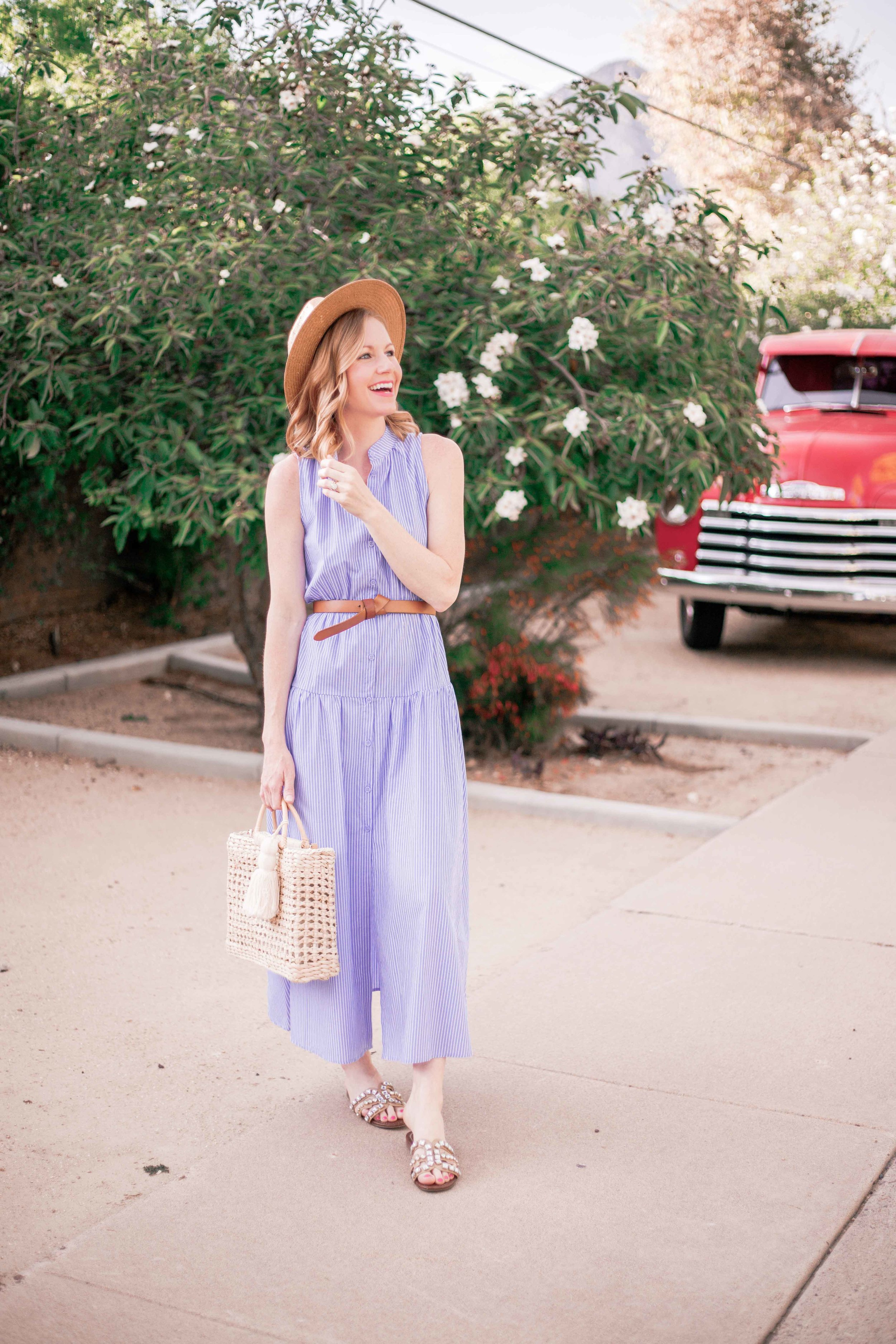 Midi Dress Fit and Flare