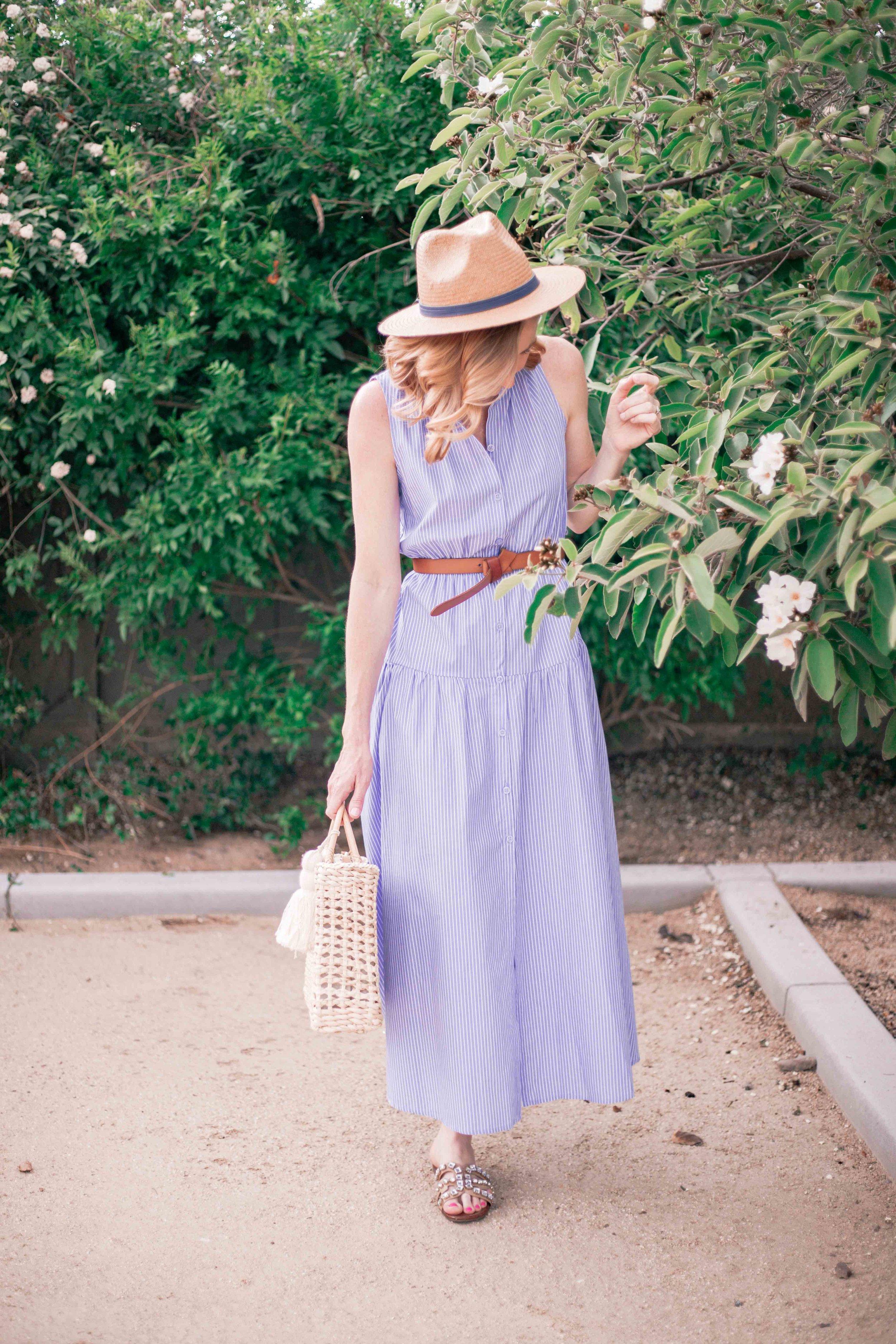 Casual Summer Midi Dress