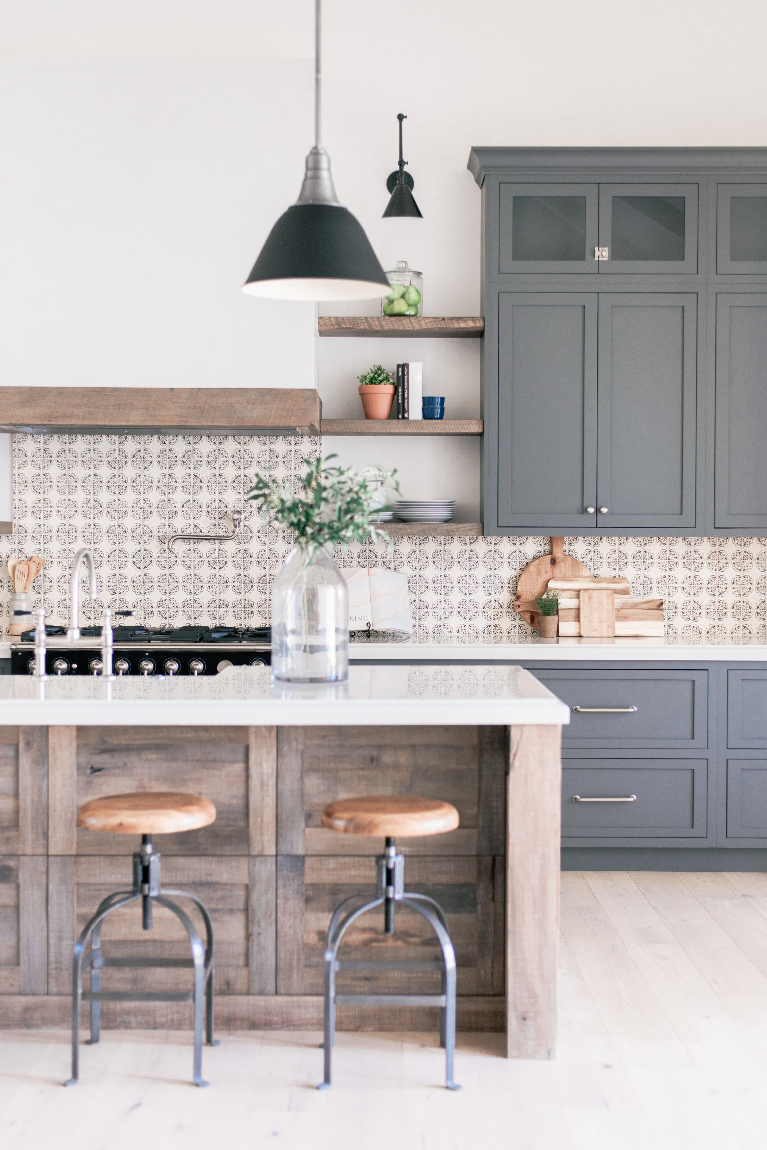 Rustic Modern Farmhouse Kitchen Design