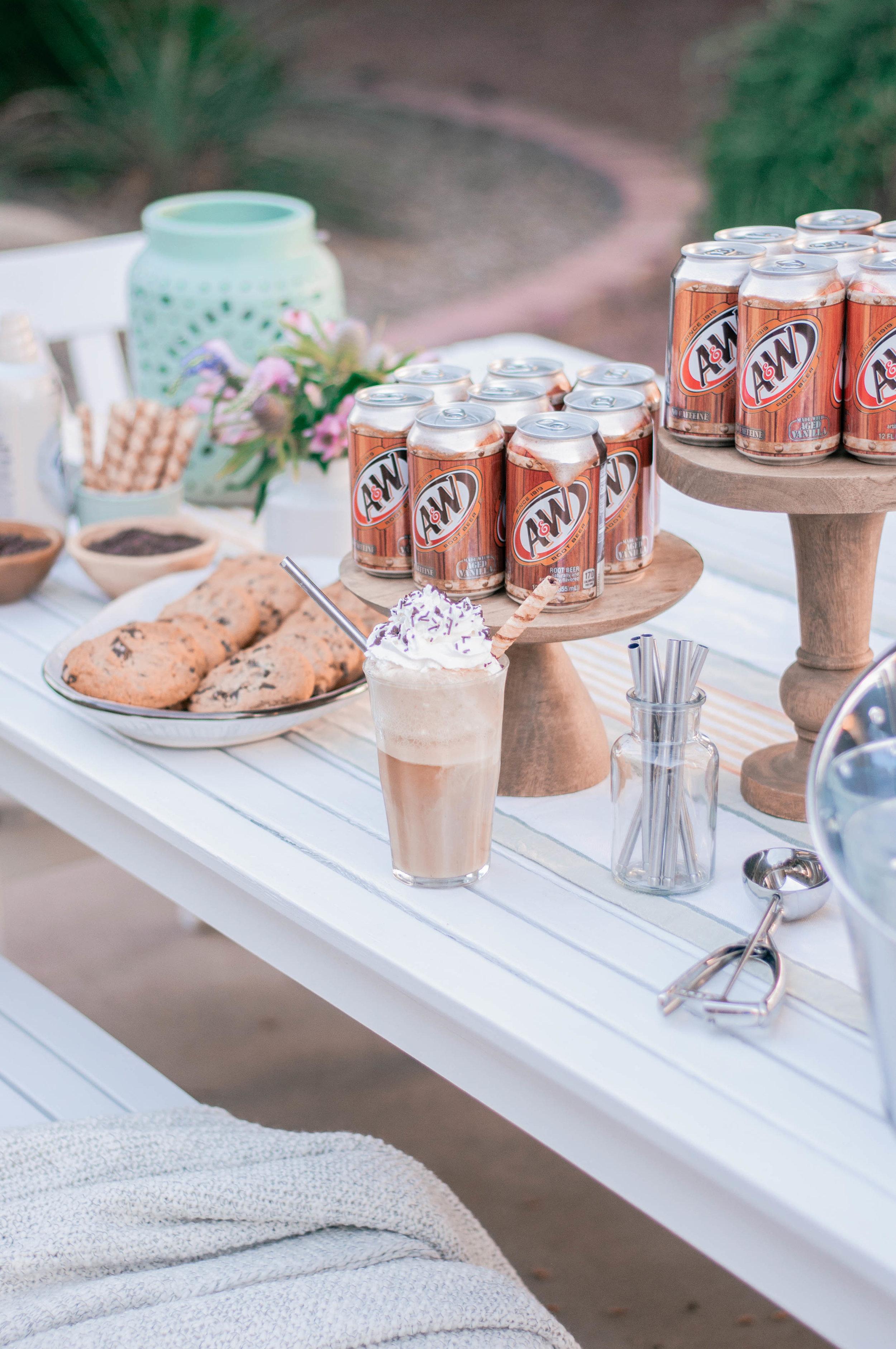 Root Beer Float Bar
