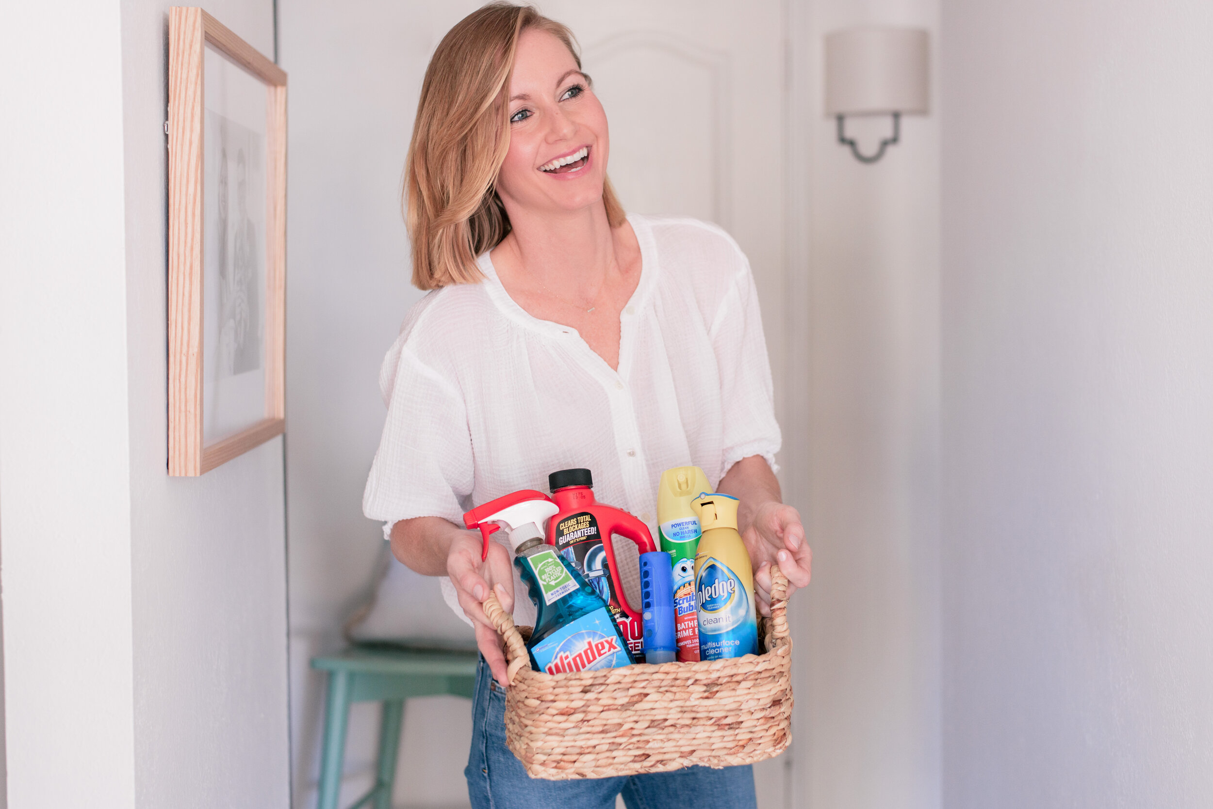 Favorite House Cleaning Supplies from Albertsons, featured by top US lifestyle blog, Love + Specs