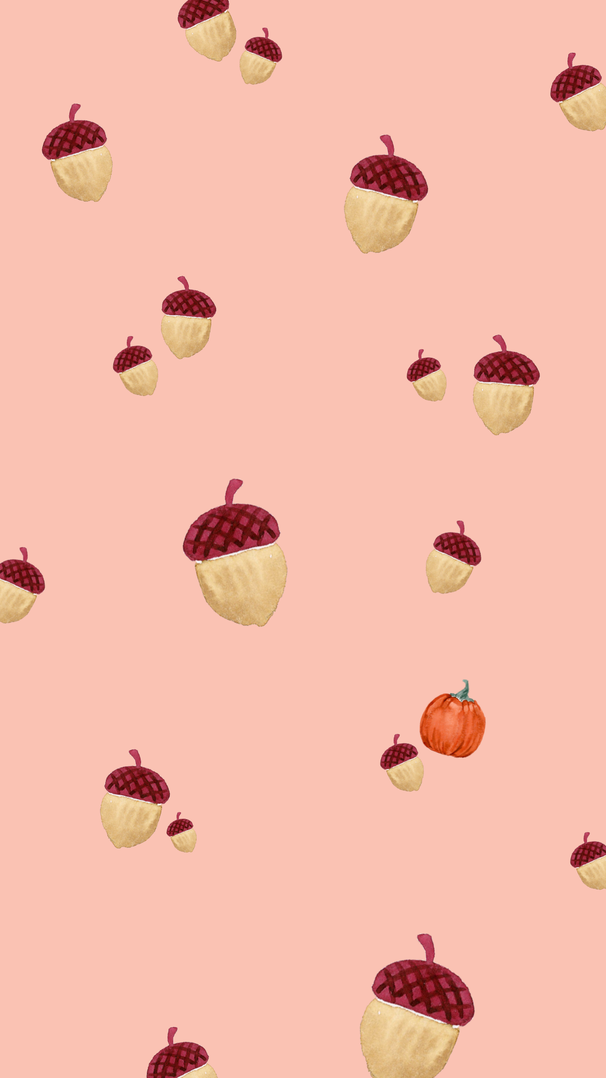 Free Fall Phone Wallpapers featured by top US life and style blog, Love and Specs