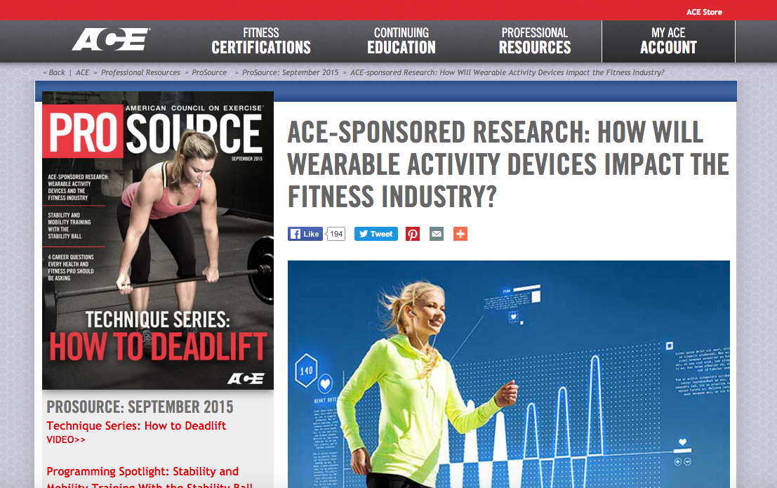Demand for Fitness Professionals to Use Mobile Health Apps and Wearables with Clients