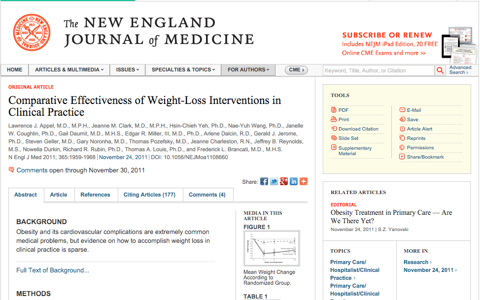 Weight Loss for Patients In a Practice