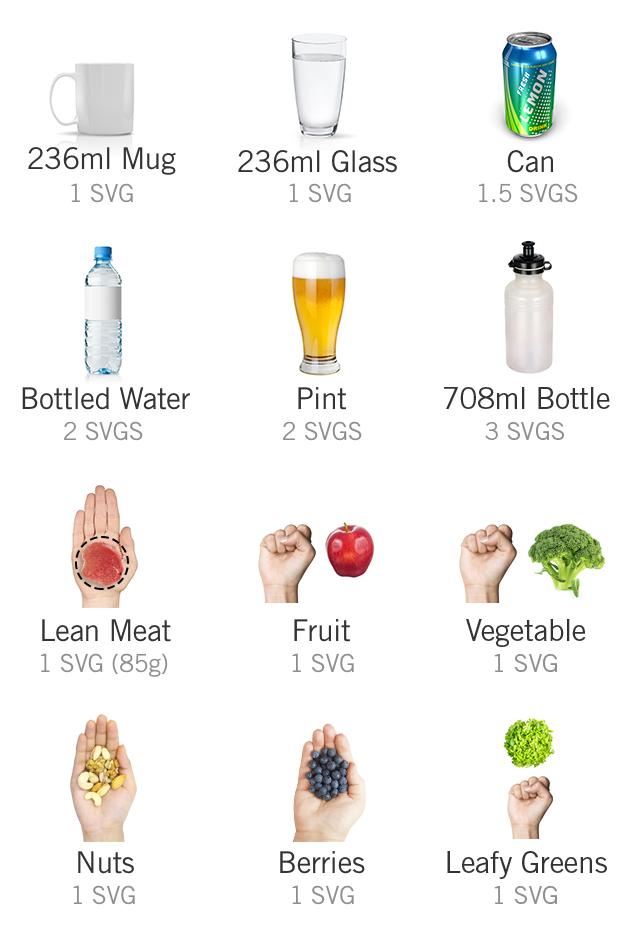 Simple Servings Guide Metric Units