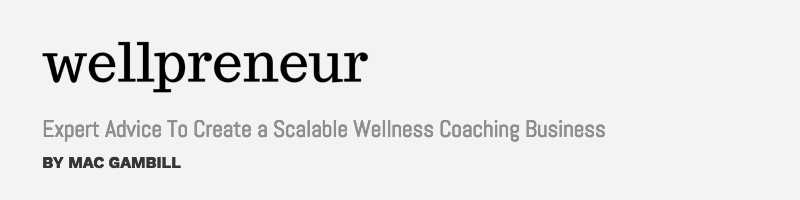 Nudge Founder featured Wellpreneur