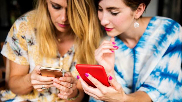 Women Using Health Apps