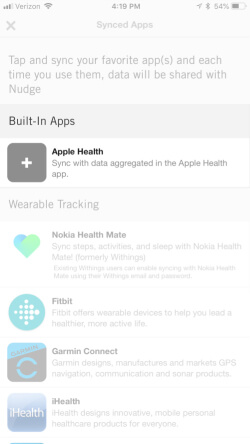 Sync Health Apps On iPhone