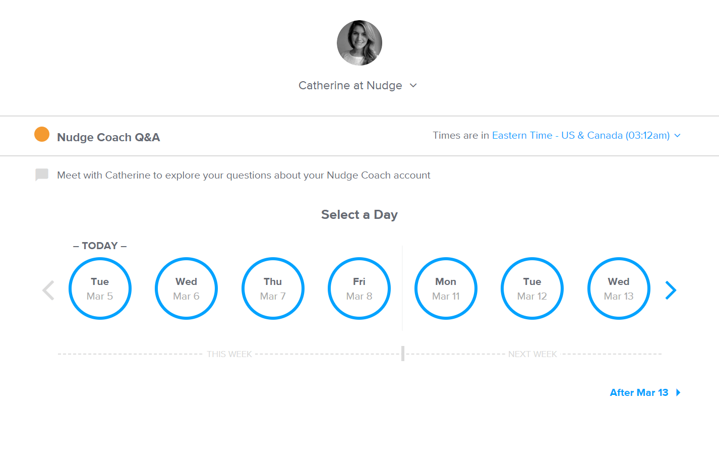 use calendly for scheduling