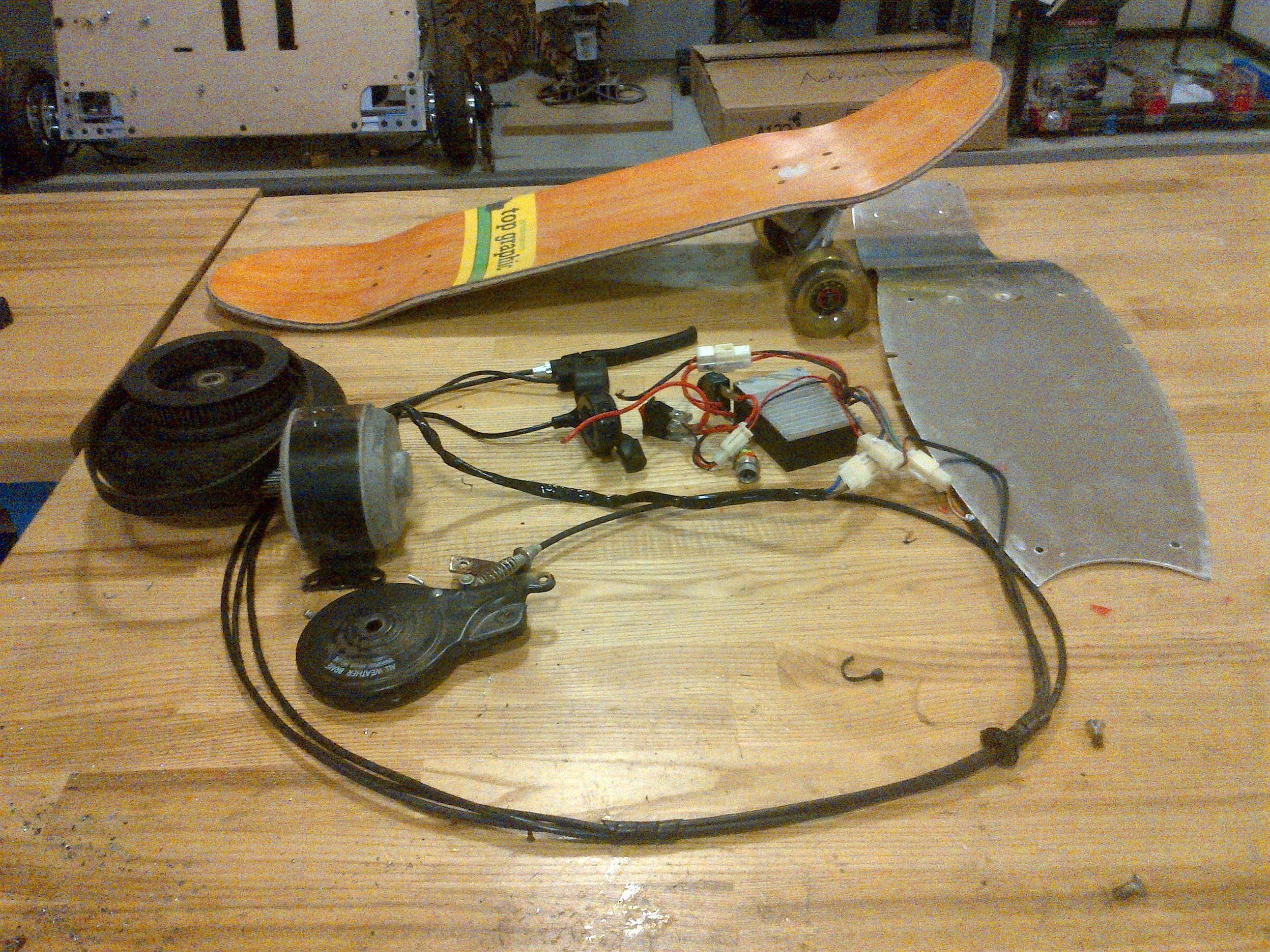 Powered Skateboard