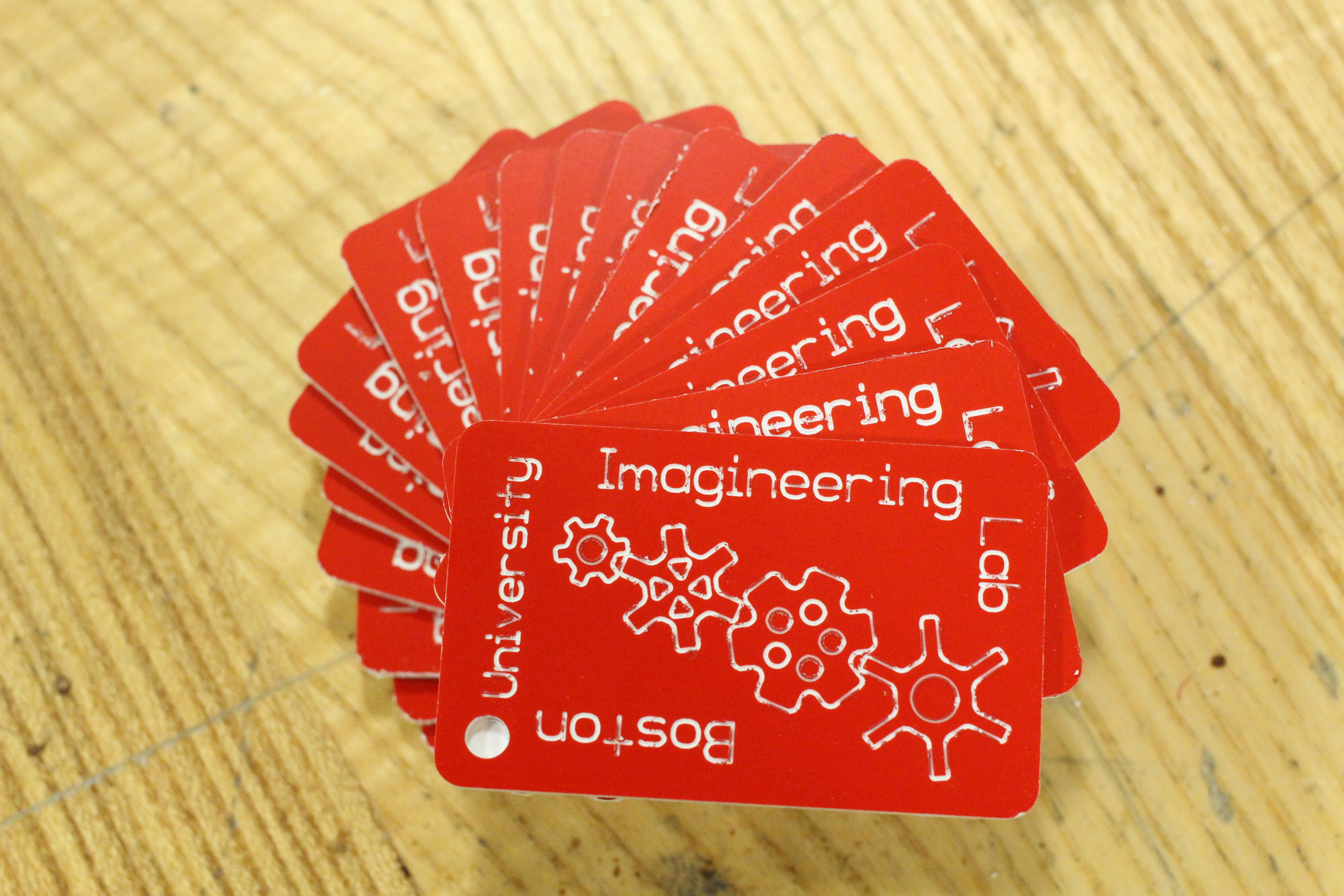 Imagineering/Tinker Lab Keychains