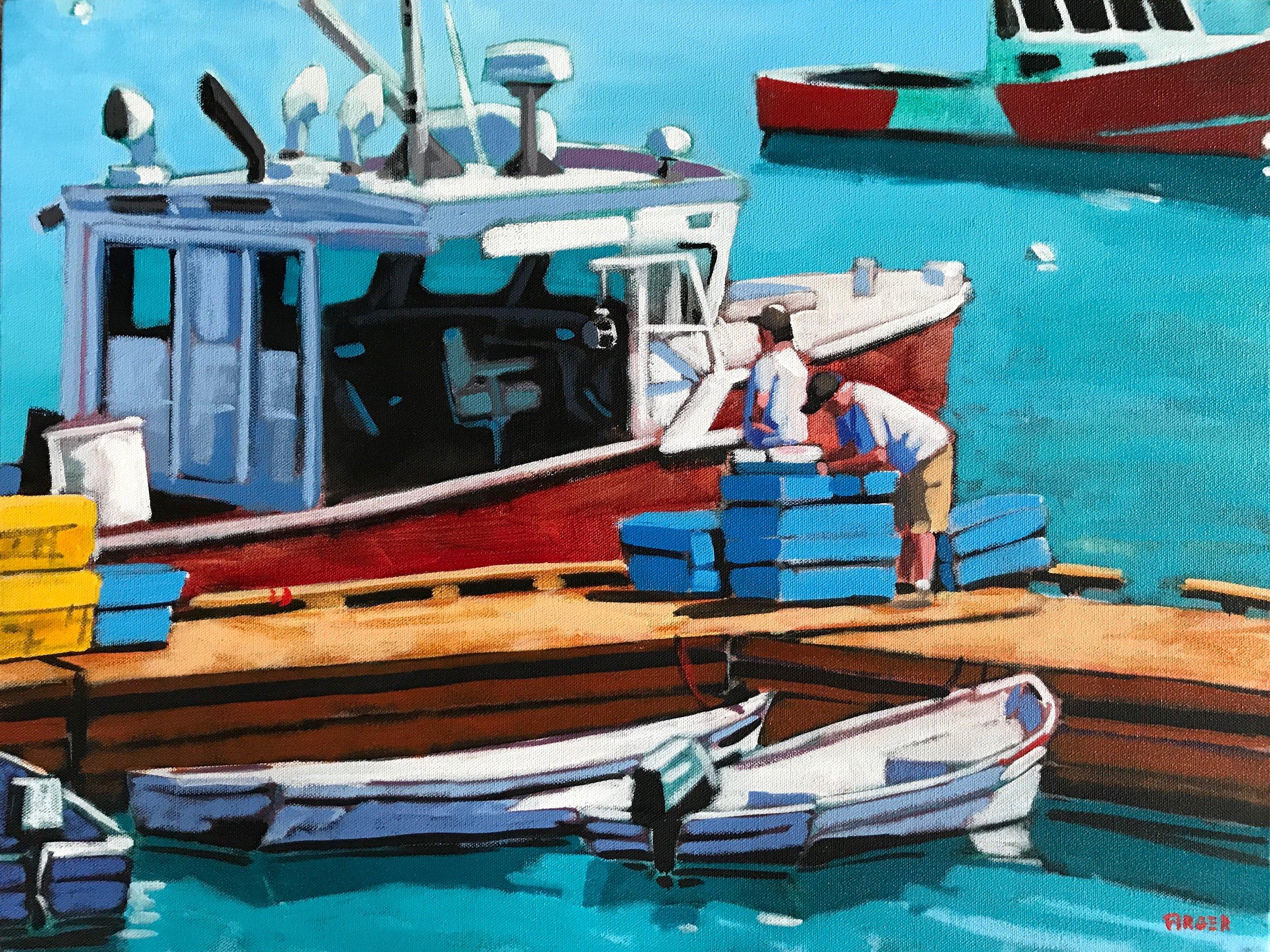 The Tally - 18 x 24, Acrylic on Canvas