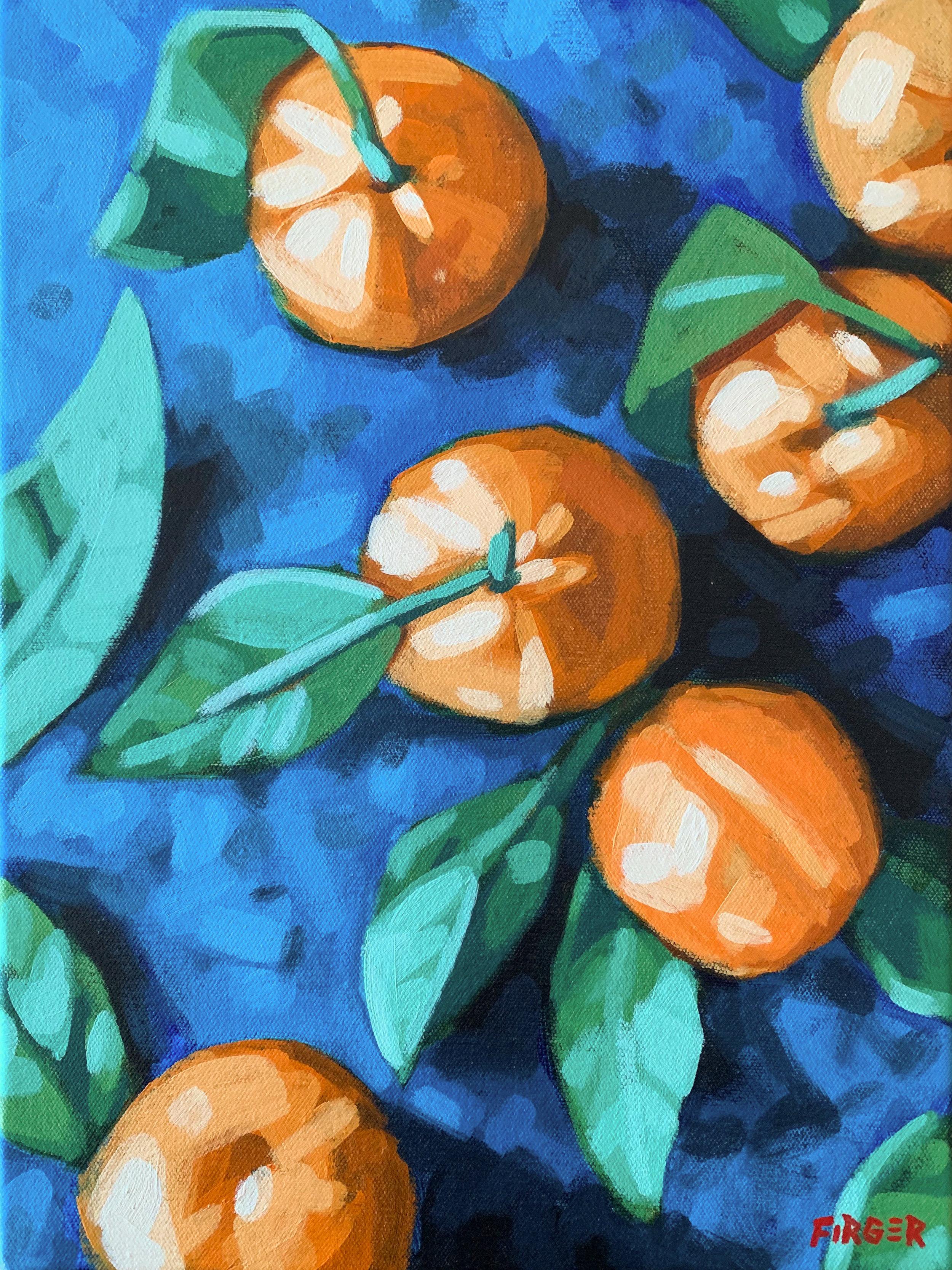 Citrus Season - 12 x 16, Acrylic on Canvas (SOLD)