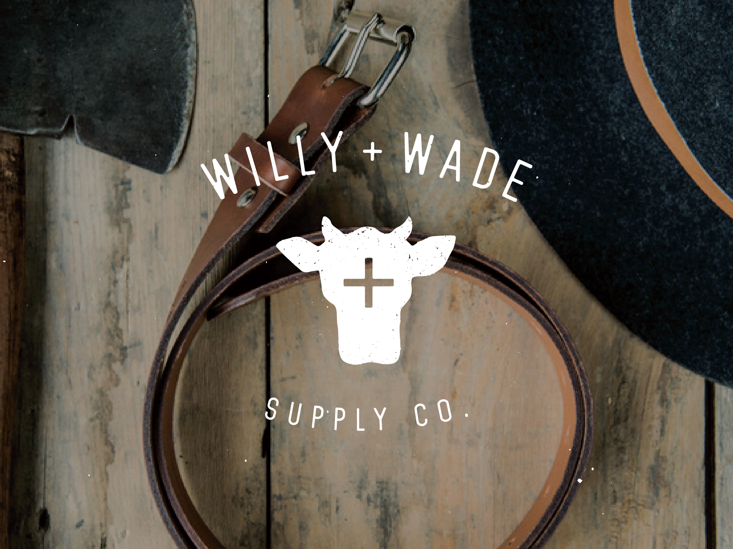 Willy + Wade Supply Co. - Branding Design