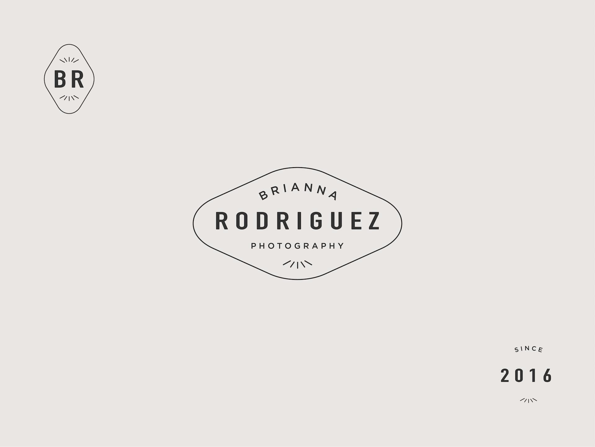 Brianna Rodriguez Photography - Branding Design