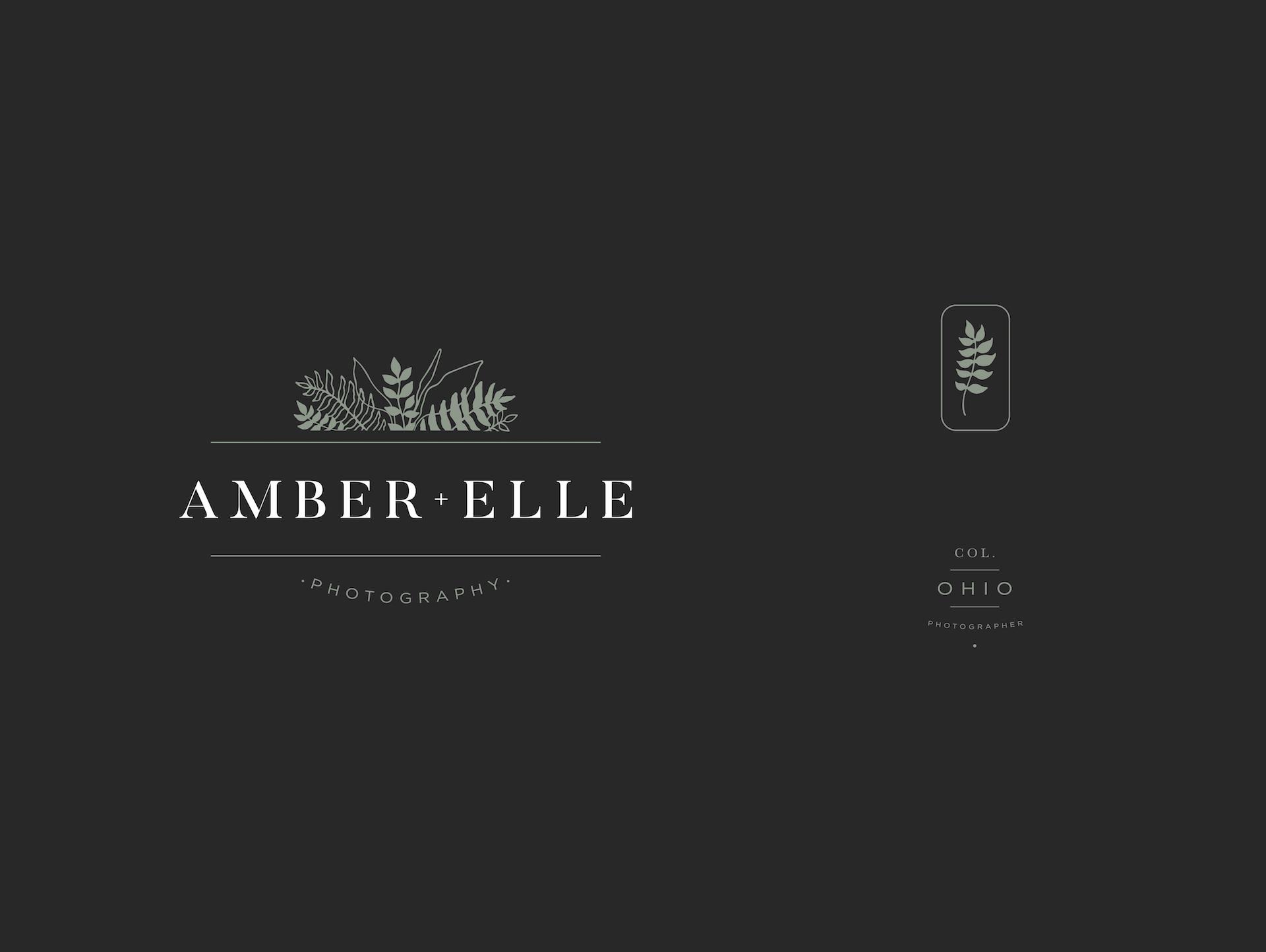 Amber + Elle - Branding Design