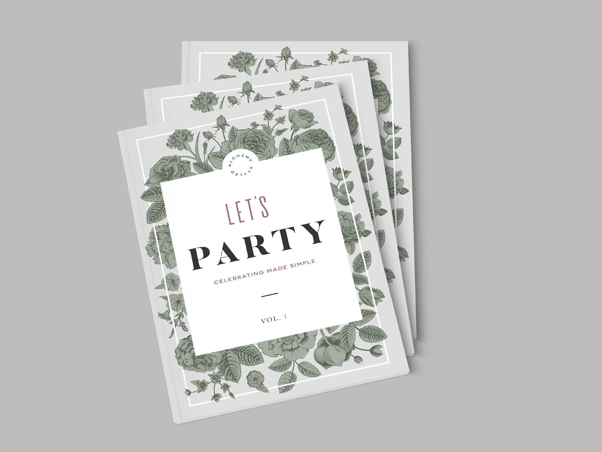 Let's Party - Editorial Design