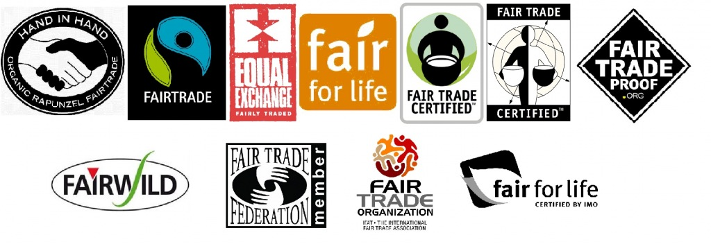 Types of Fair Trade Certifed Labels