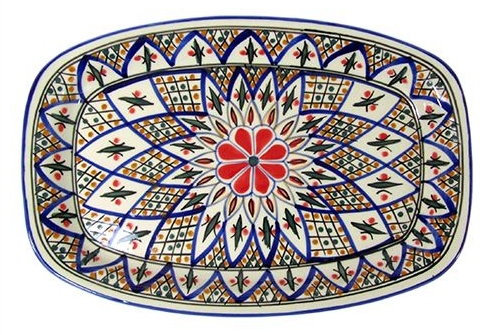 Le Souk Ceramique | Rectangle Tabarka Platter