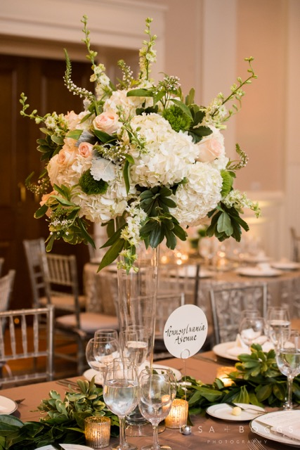Georgetown Carnegie Hall Wedding | B Floral and Event Design