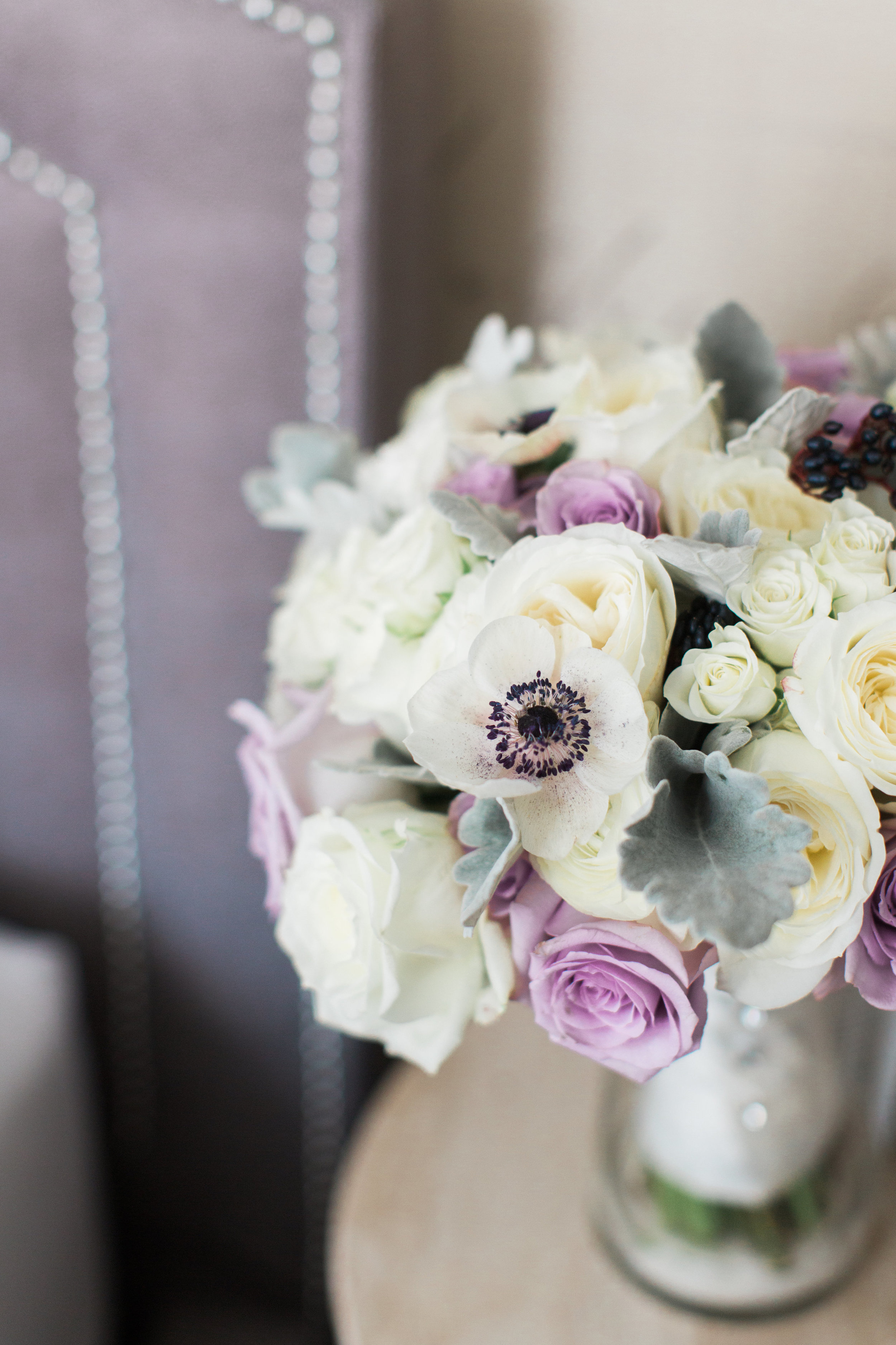 Anemone bouquet by B Floral DC