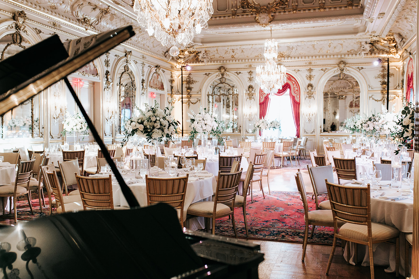 Elegant Cosmos Club wedding  by B Floral DC