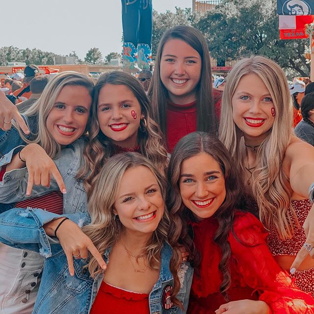 talk about the best weekend ever! #boomersooner 🤩