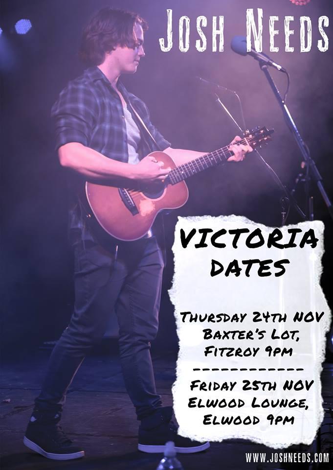 Josh Needs in Victoria -