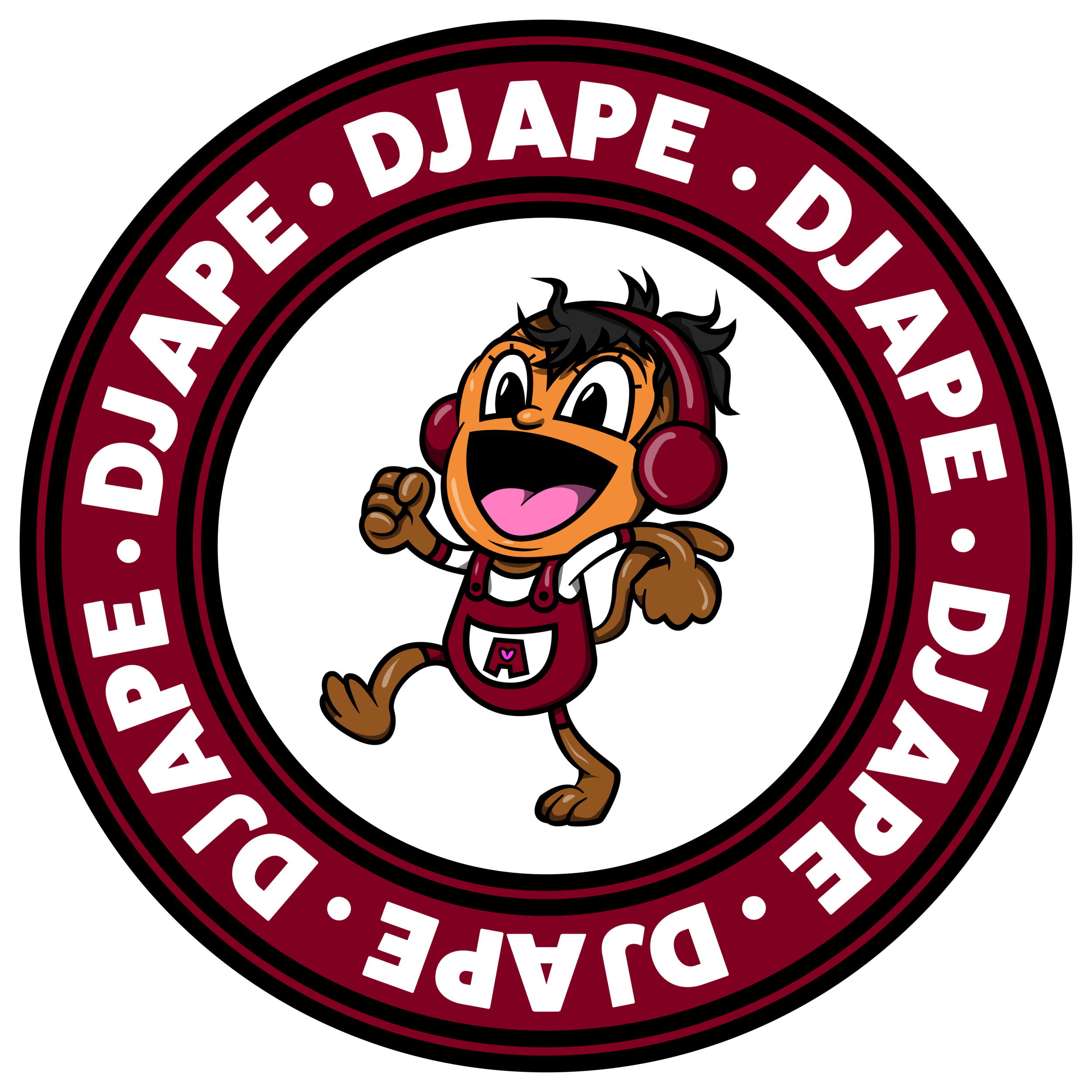 DJ APE official_burgundy transparent bg.png