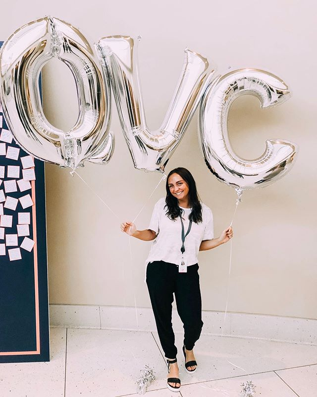 "Our Vice President, Taylor, is soon to finish out her summer internship at @qvc ! In her own words, she says ""I can't even begin to explain the amount of things that I learned this summer interning with the apparel design team at the Q. Each day spent there I was able to expand my knowledge about the industry and get hands on experience. My favorite part about the program was definitely my team who were the most inspiring and helpful people. I can't wait to take with me everything I learned and begin my senior year in design!"" . . #fashionstudent #designstudent #studentdesigner #summerintern #summerinternship #designintern #udel #udelfash #qvc #qvcintern #ipreview via @preview.app"
