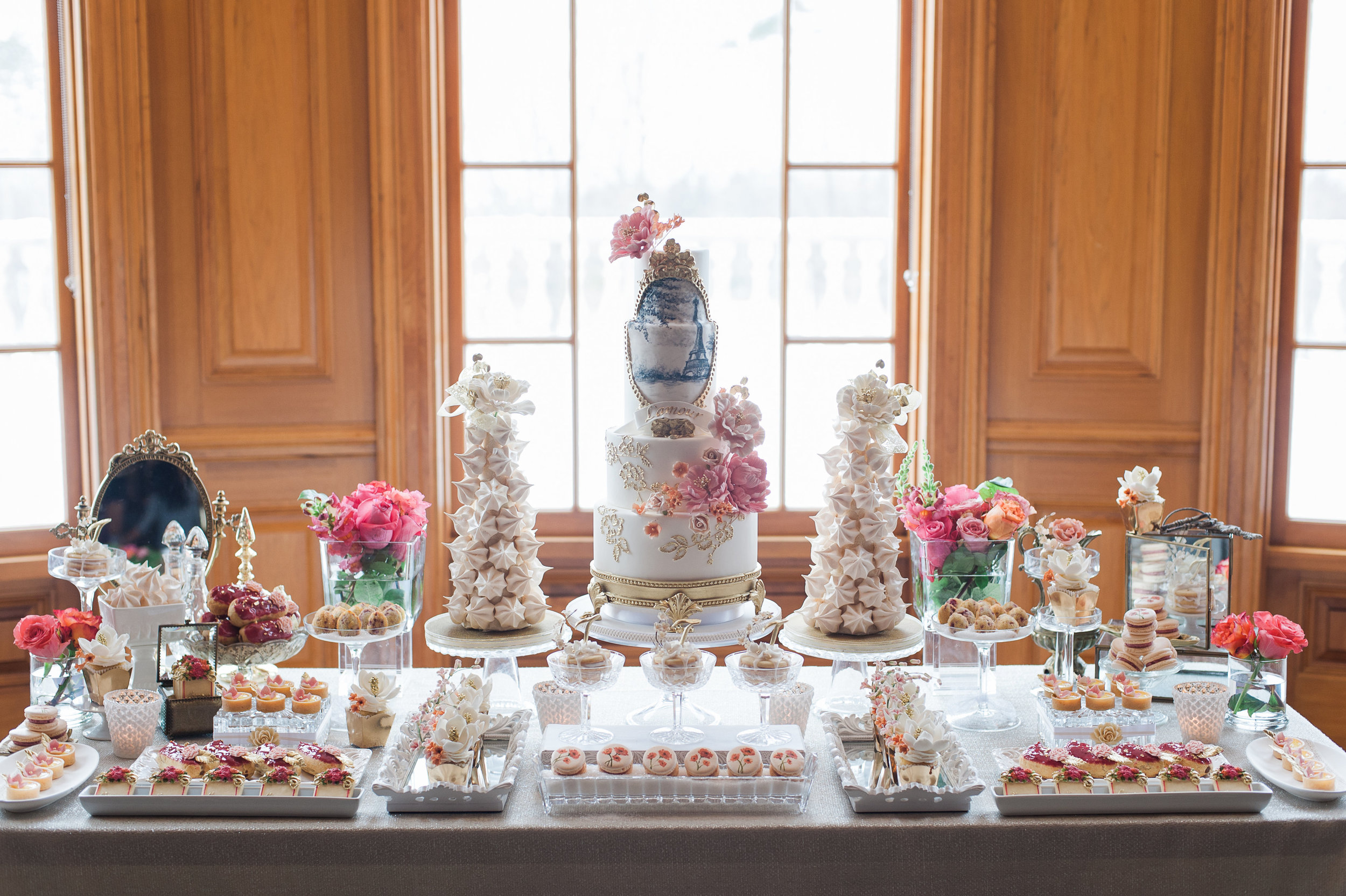 Cake & Sweet Table by Truffle Toronto
