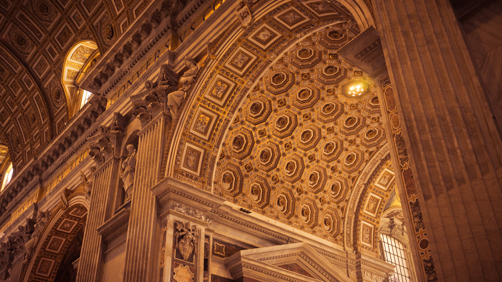 St. Peter's Basilica Archways