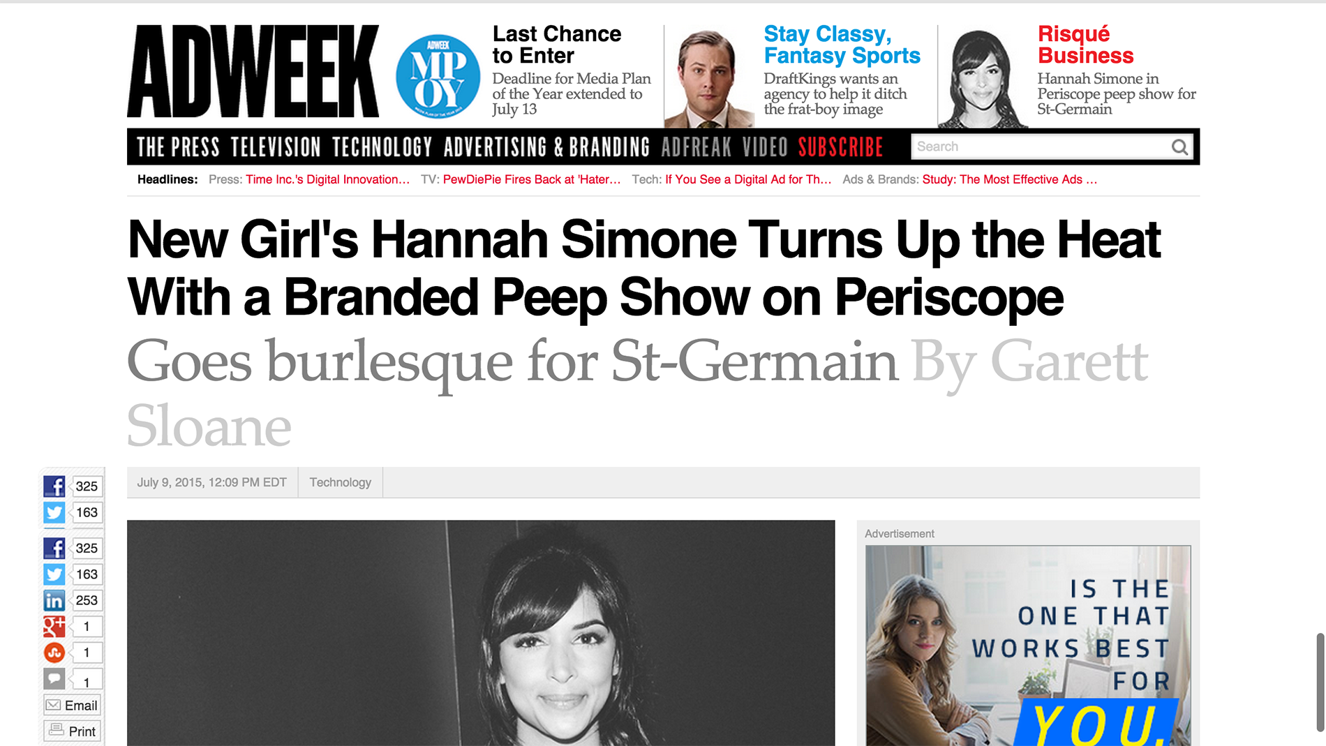 ADWeek_New Girl s Hannah Simone Turns Up the Heat With a Branded Peep Show on Periscope   Adweek.png