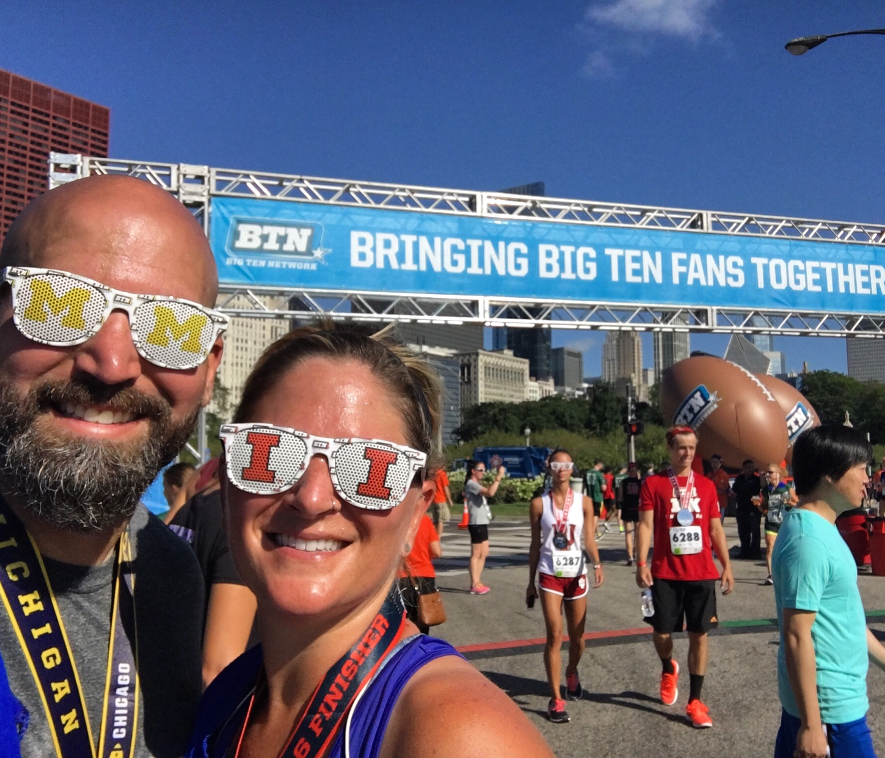 Who doesn't celebrate their 15th anniversary with a 10k? (August 5)