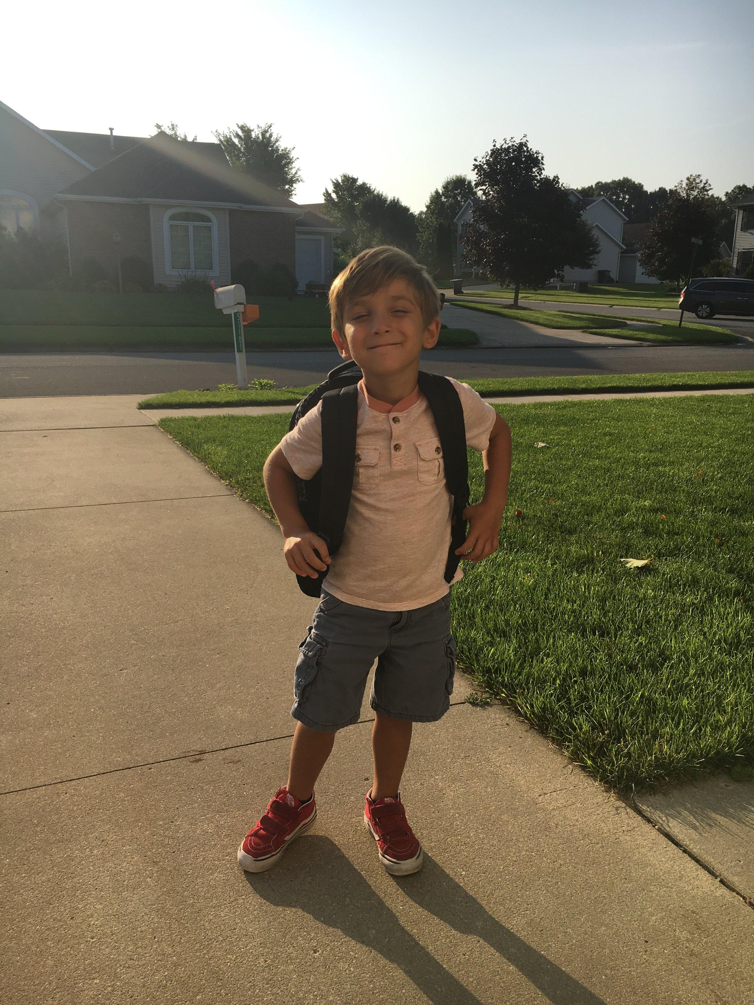 This one loves preschool!!!
