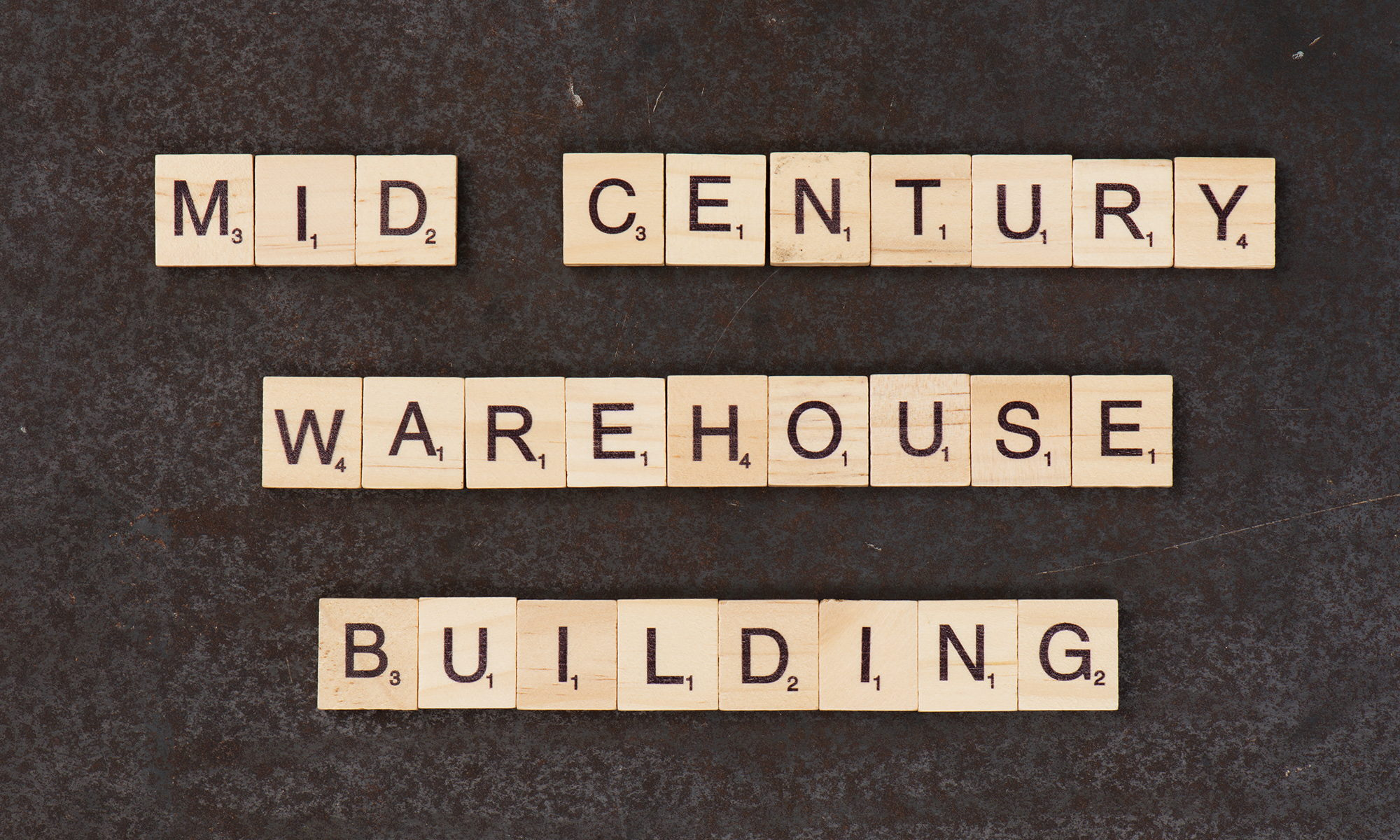 Mid Century Warehouse Building