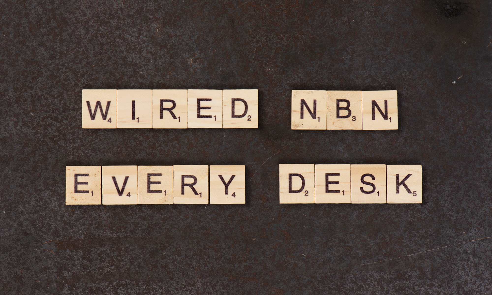 Wired NBN Every Desk