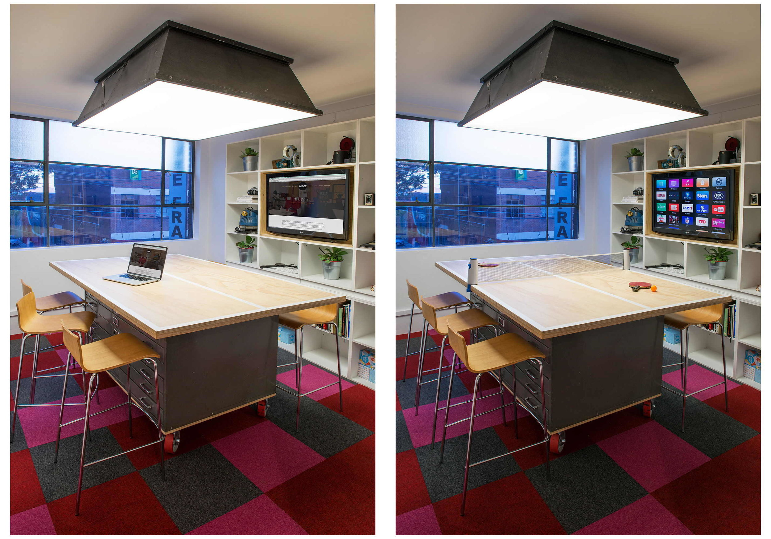 Meeting Room and Table Tennis Table