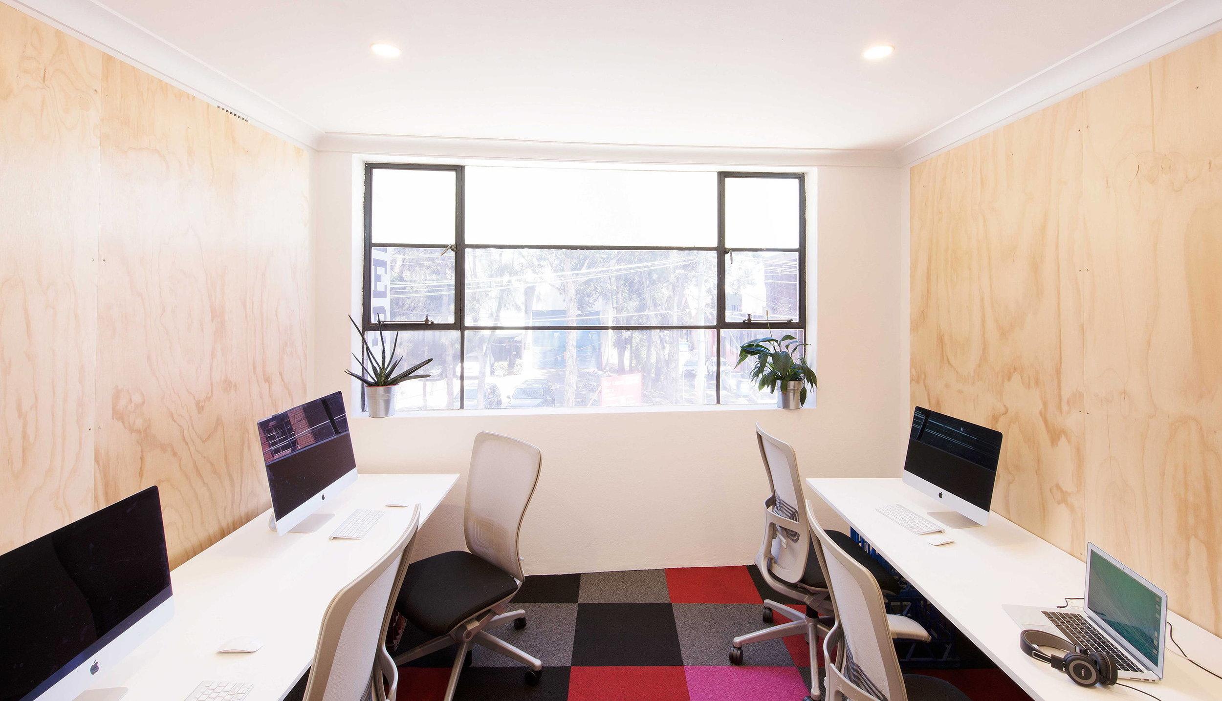 Bigger Private Office