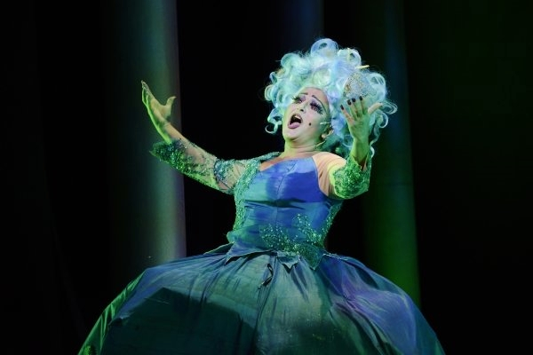 Ursula (Shana Dirik*) in Fiddlehead Theatre Company's  Disney's The Little Mermaid  (Photo Credit:   Zach Blane ) (* Denotes a Member of Actors' Equity Association).