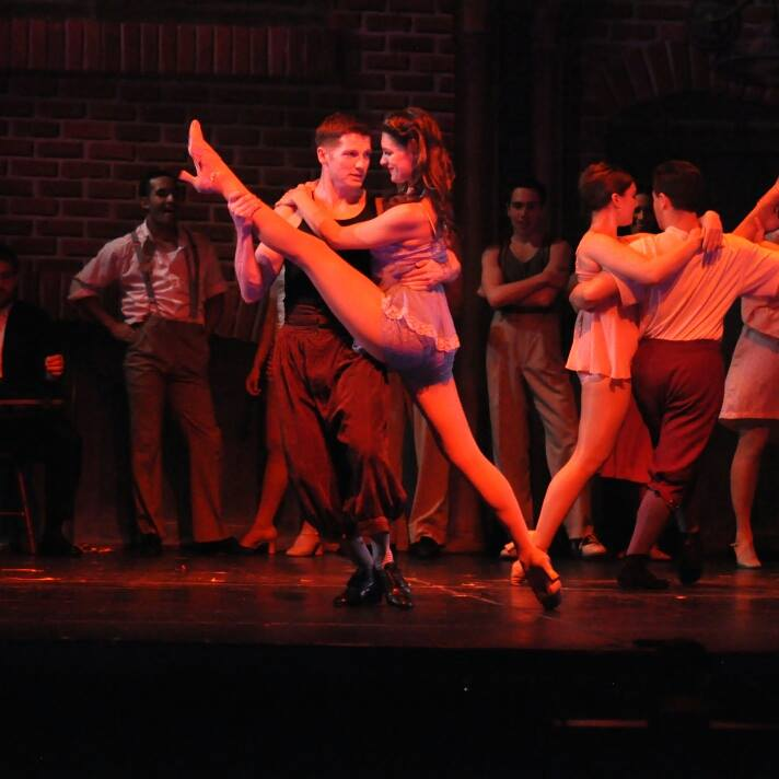Lenni Alexandra Kmiec in  Kiss Me, Kate at  Reagle Music Theatre of Greater Boston  (Photo Credit:  Herb Philpott ).