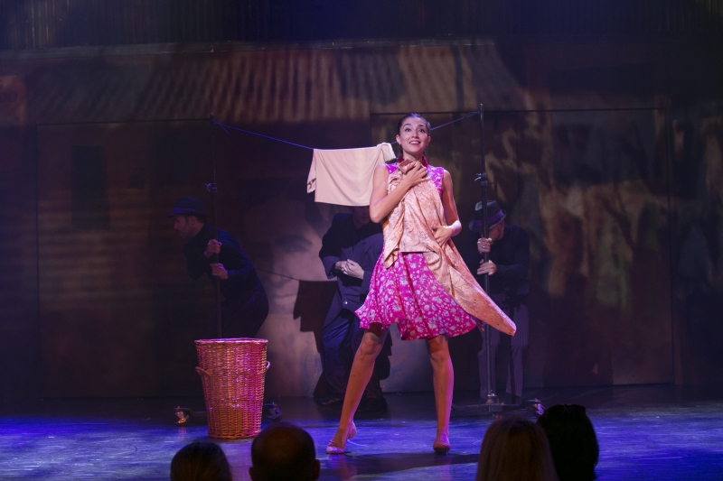 Arrabal (Michaela Spina) in  Arrabal  at the American Repertory Theatre. Photo Credit: Evgenia Eliseeva